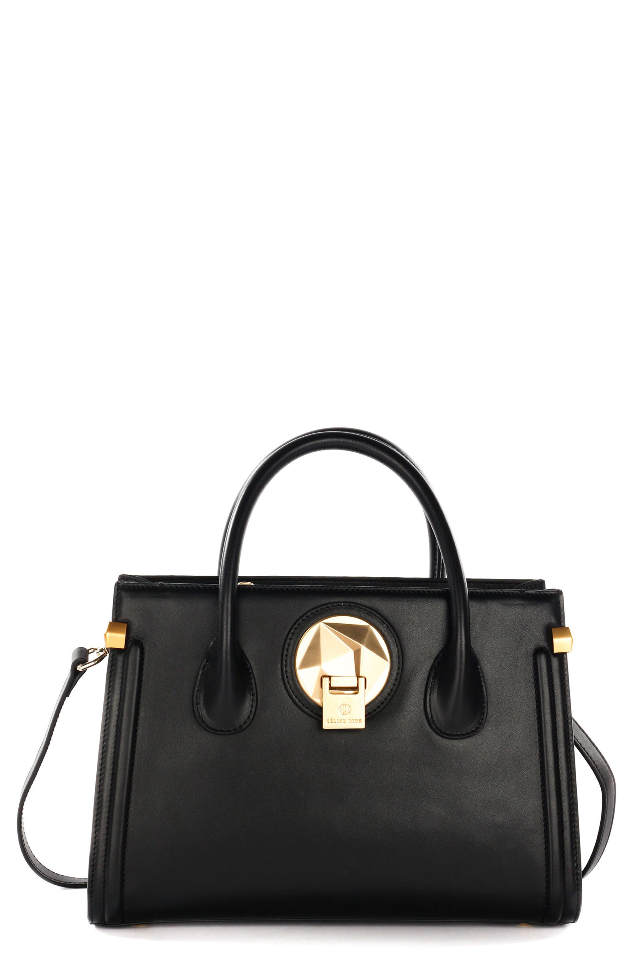 Céline Dion Octave Leather Satchel