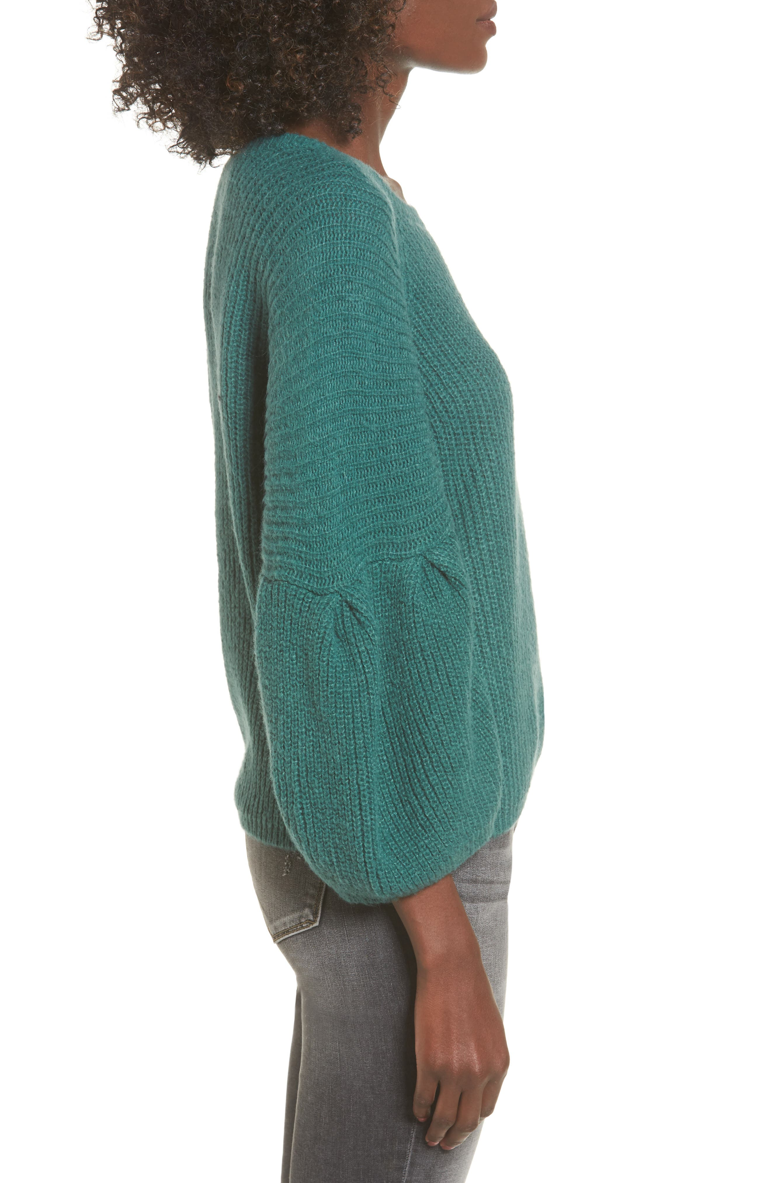 Alternate Image 3  - Leith Bubble Sleeve Sweater