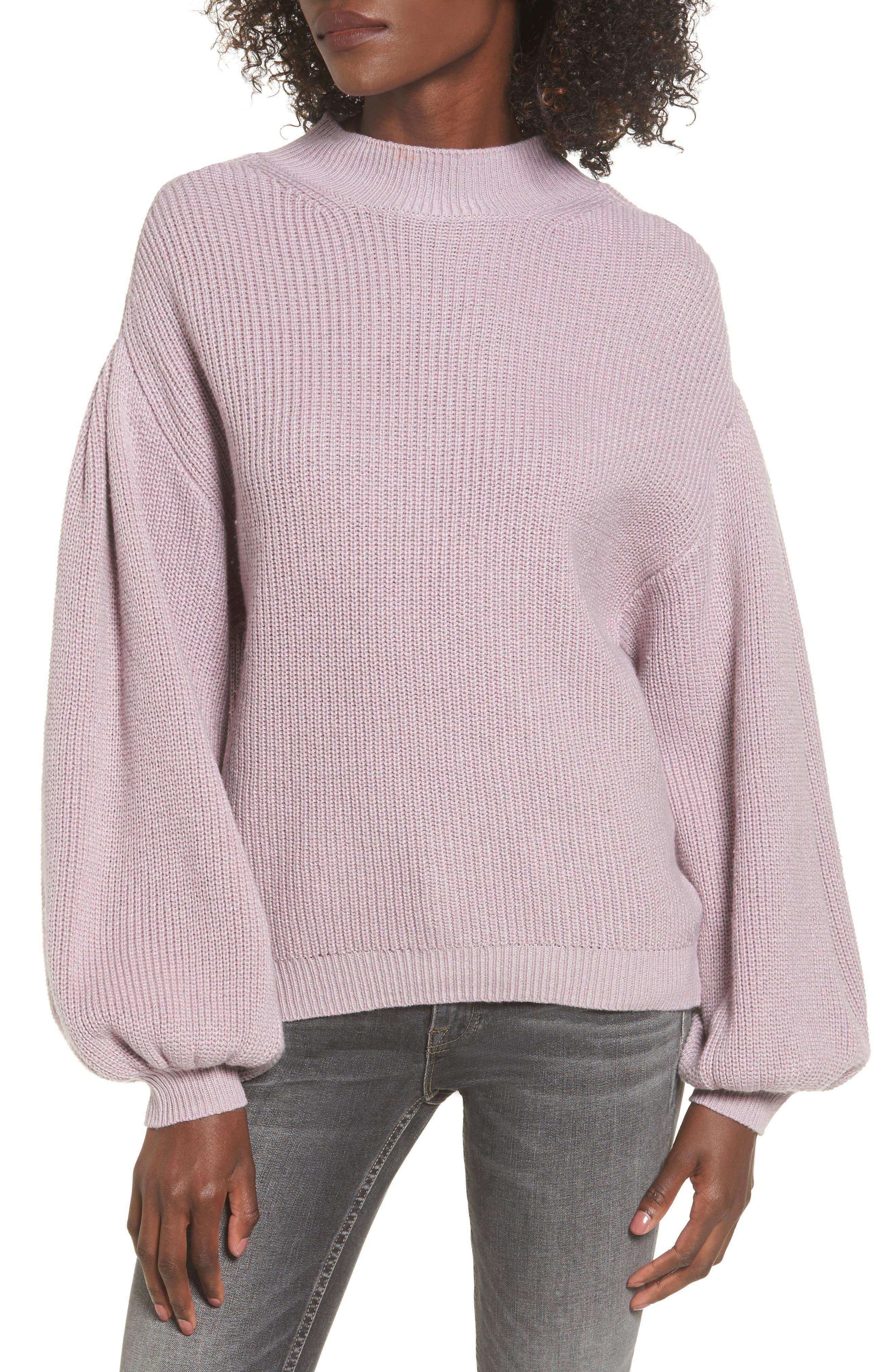 Alternate Image 1 Selected - Leith Blouson Sleeve Sweater
