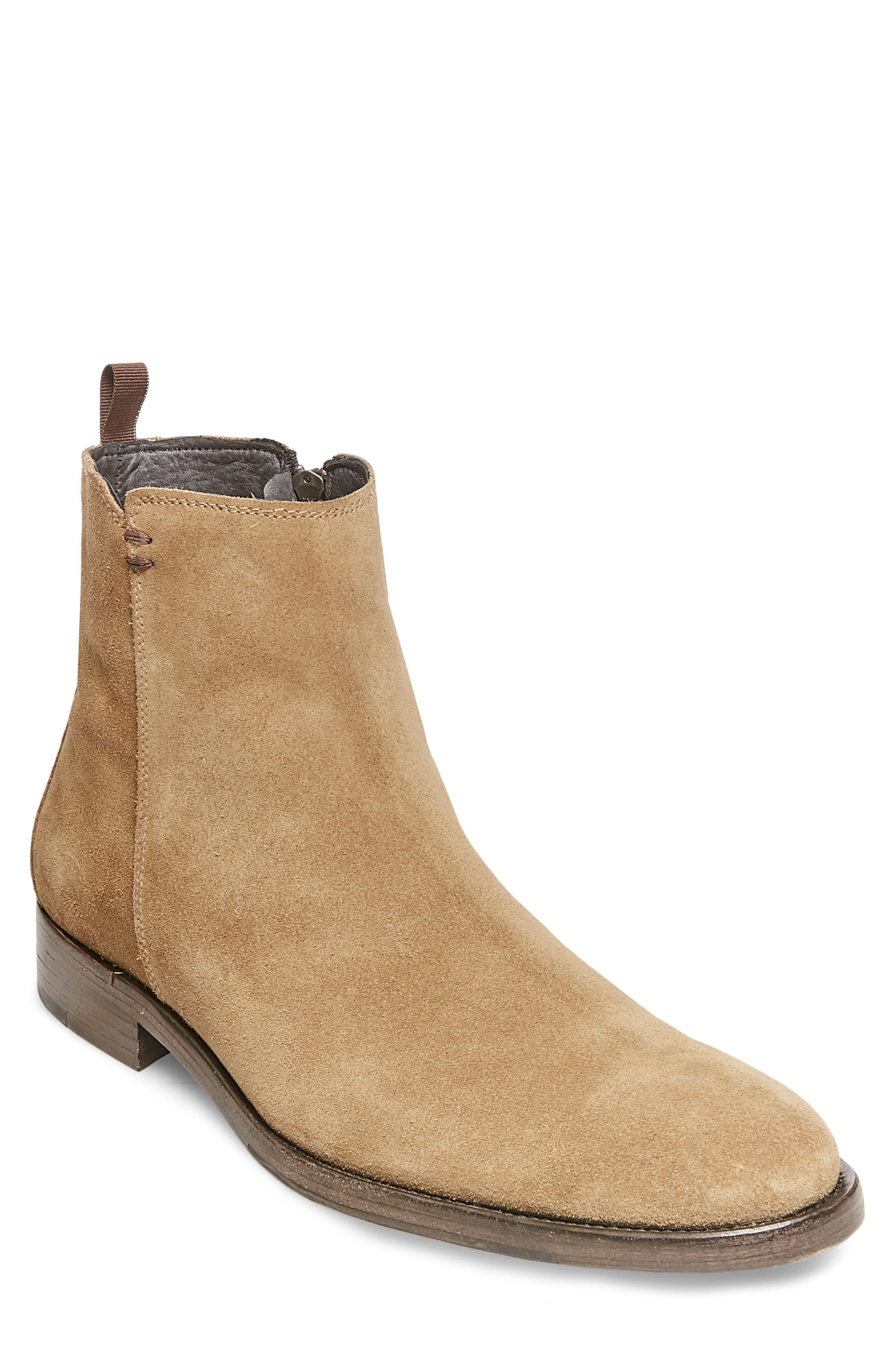 Alternate Image 1 Selected - Steve Madden x GQ Fred Zip Boot (Men)