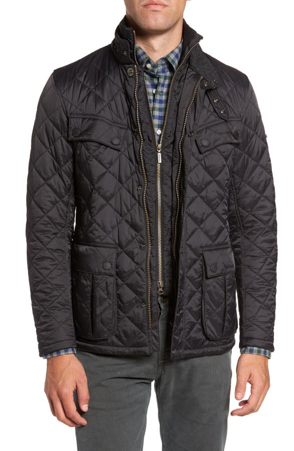 Barbour International Windshield Quilted Jacket | Nordstrom : quilted sweaters - Adamdwight.com