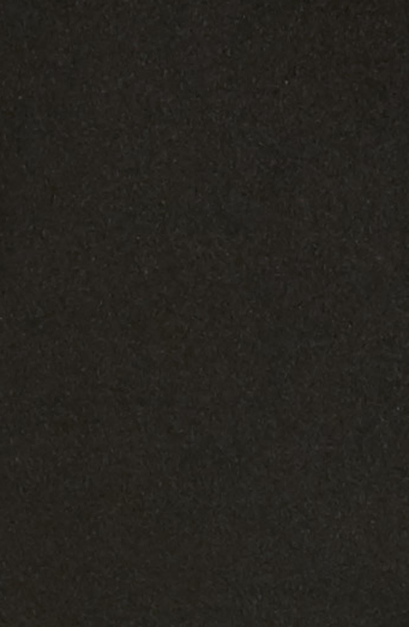 Wool Coat,                             Alternate thumbnail 6, color,                             Black