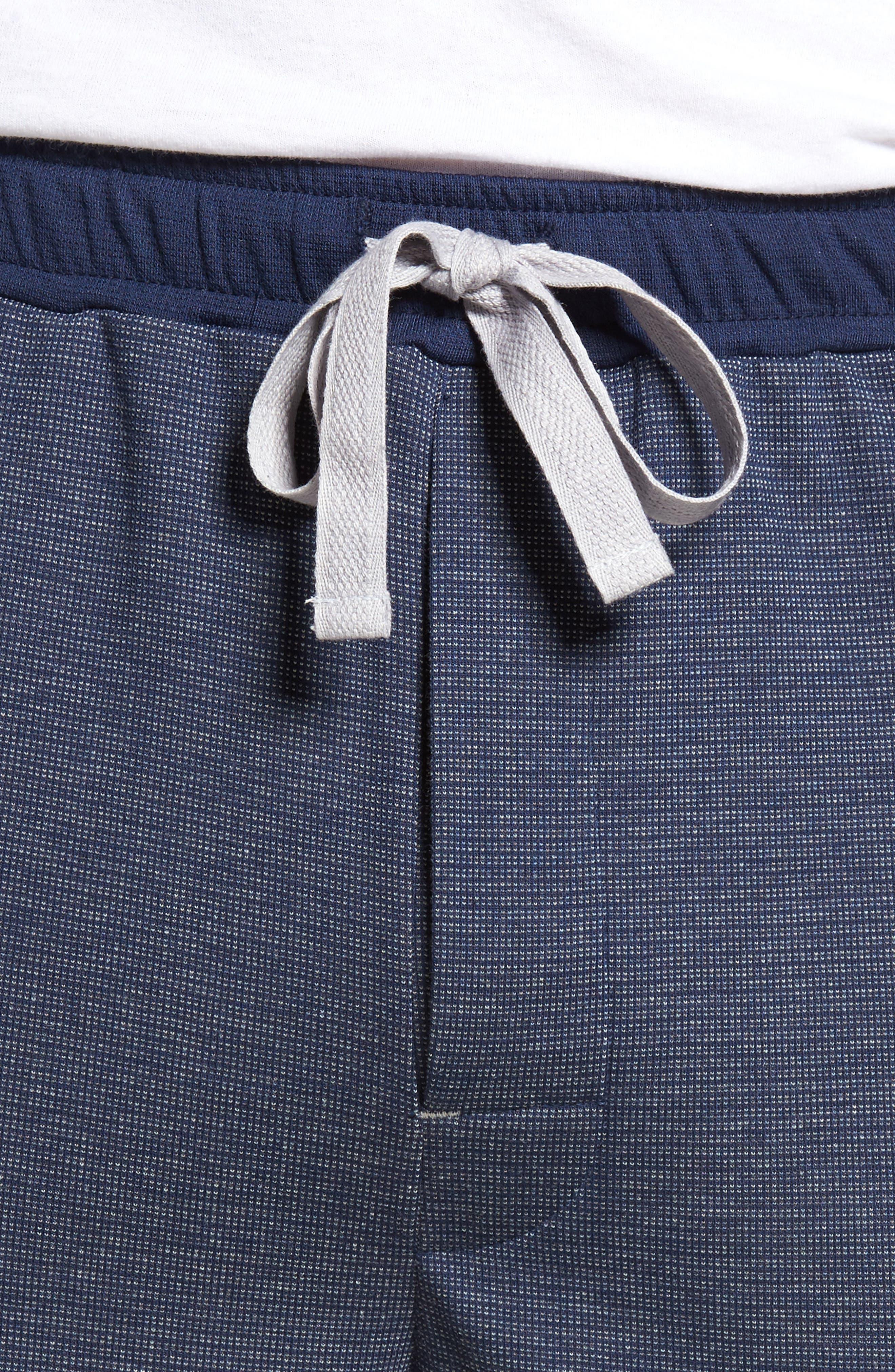 Lodge Layers Lounge Pants,                             Alternate thumbnail 4, color,                             Navy