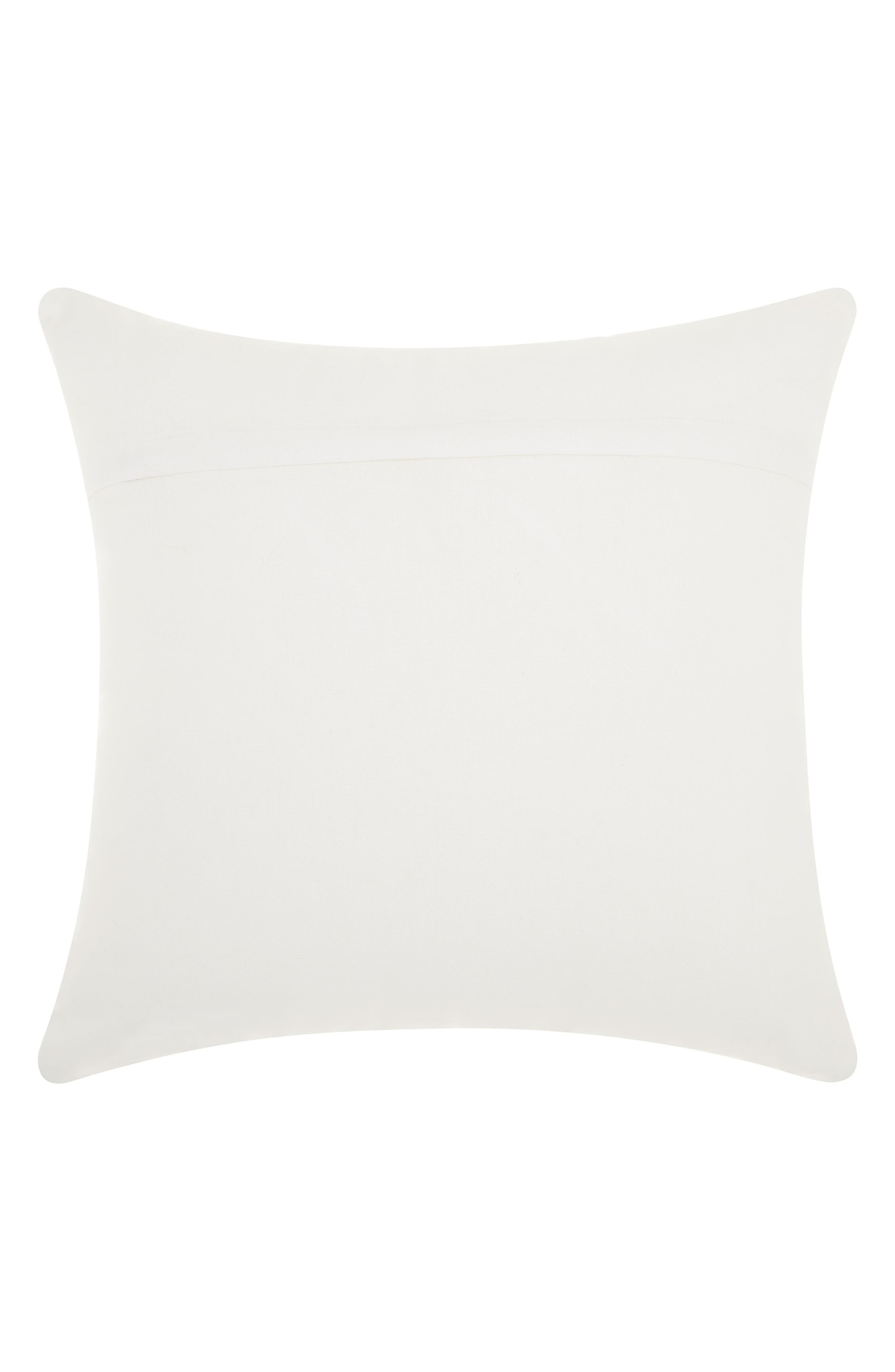 Sequin Dalmatian Accent Pillow,                             Alternate thumbnail 2, color,                             White