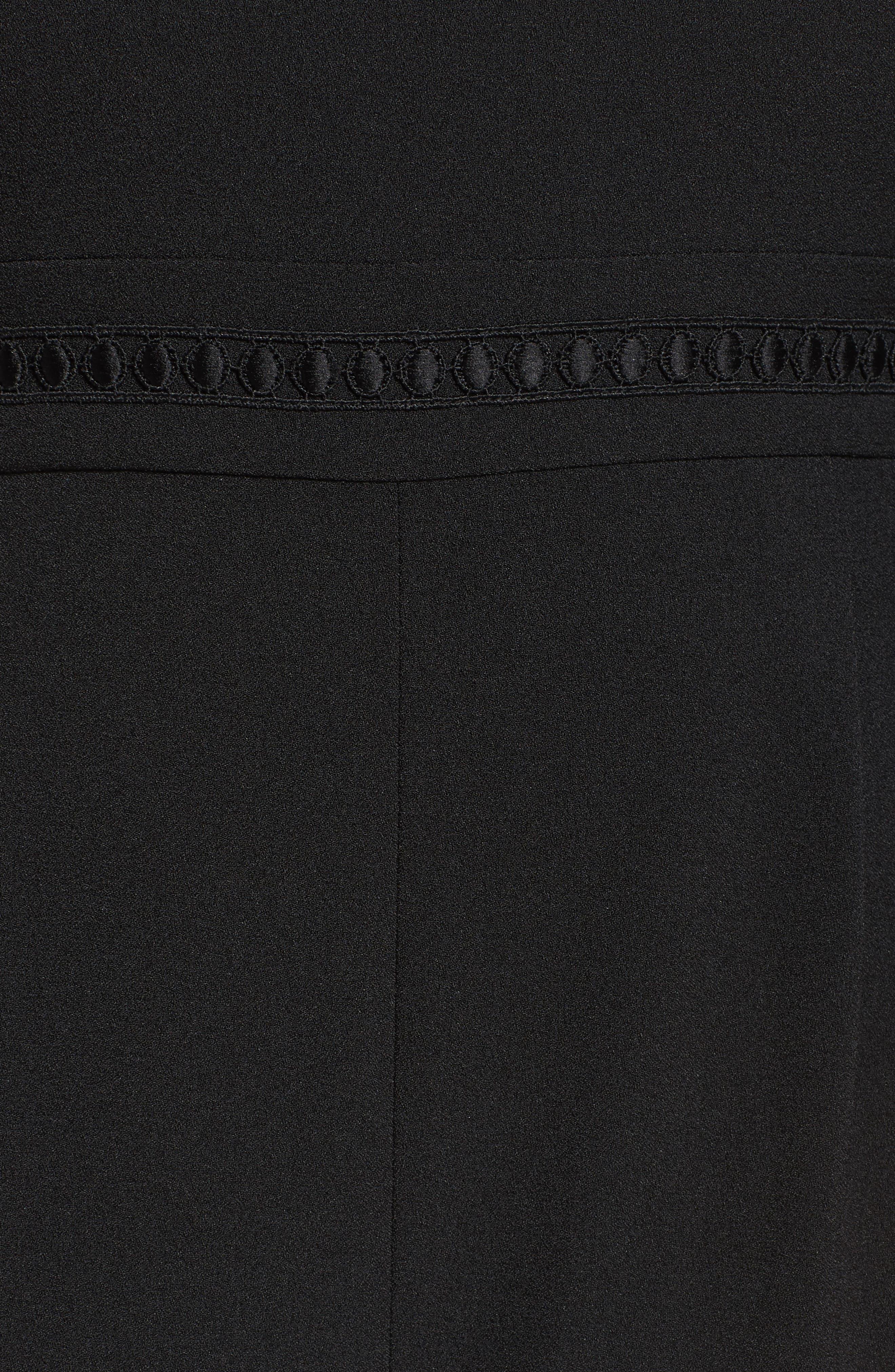 Alternate Image 5  - Eliza J Bell Sleeve Jumpsuit (Plus Size)