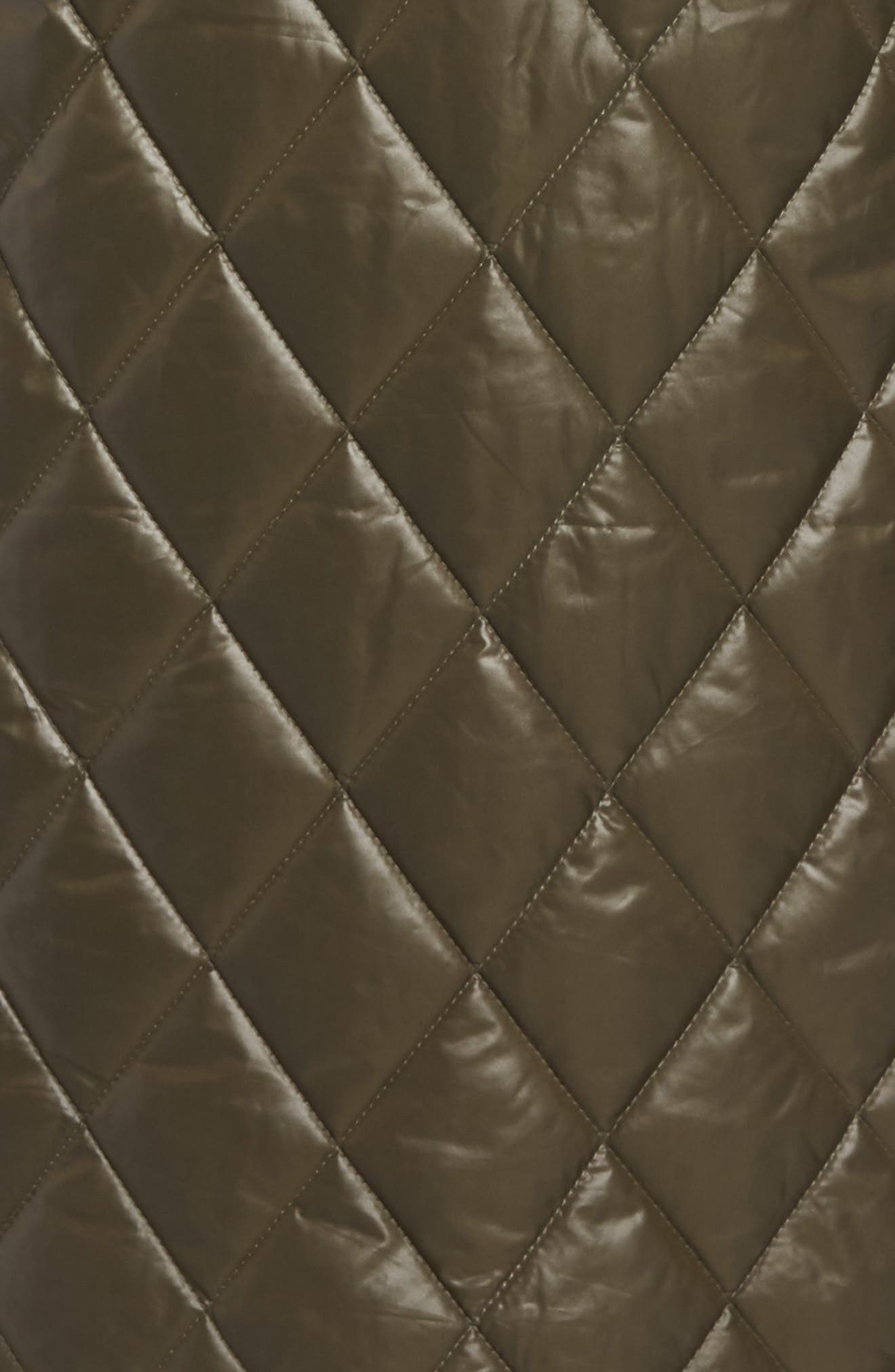 Quilted Jacket,                             Alternate thumbnail 5, color,                             Olive