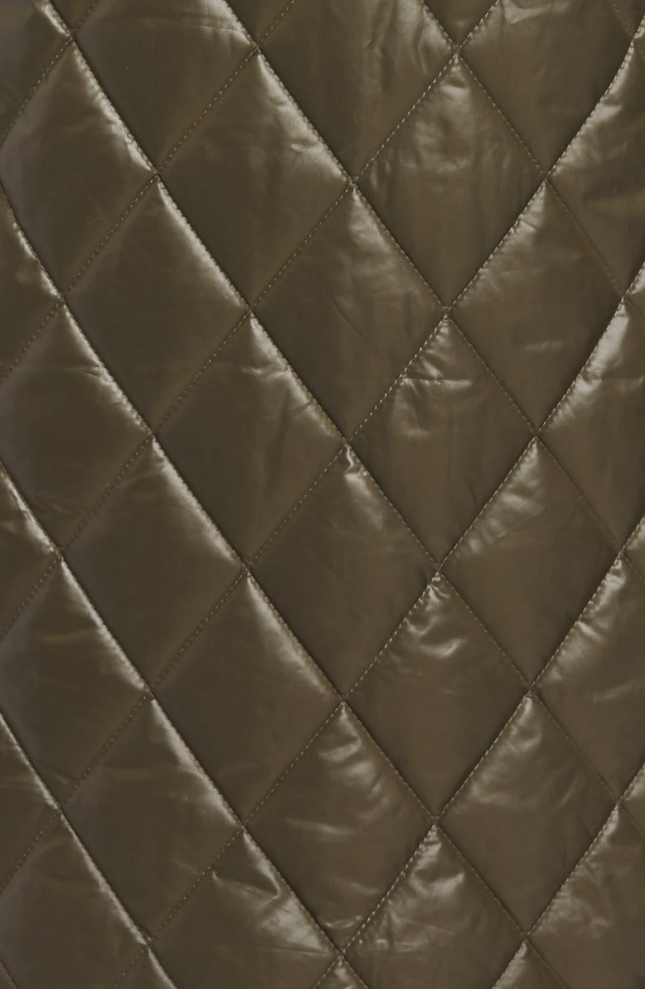 Alternate Image 5  - MICHAEL Michael Kors Quilted Jacket