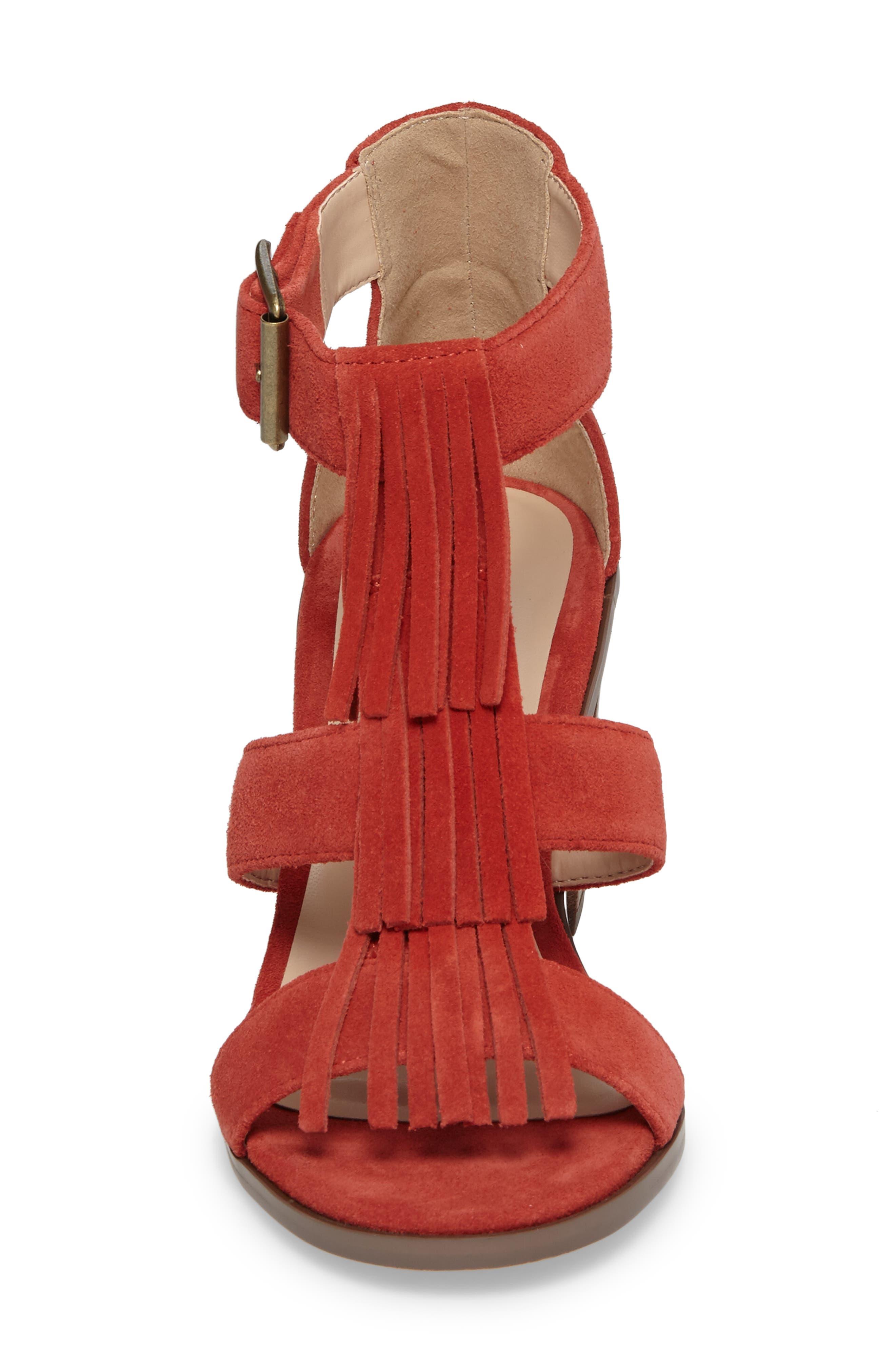 Alternate Image 4  - Sole Society 'Delilah' Fringe Sandal (Women)