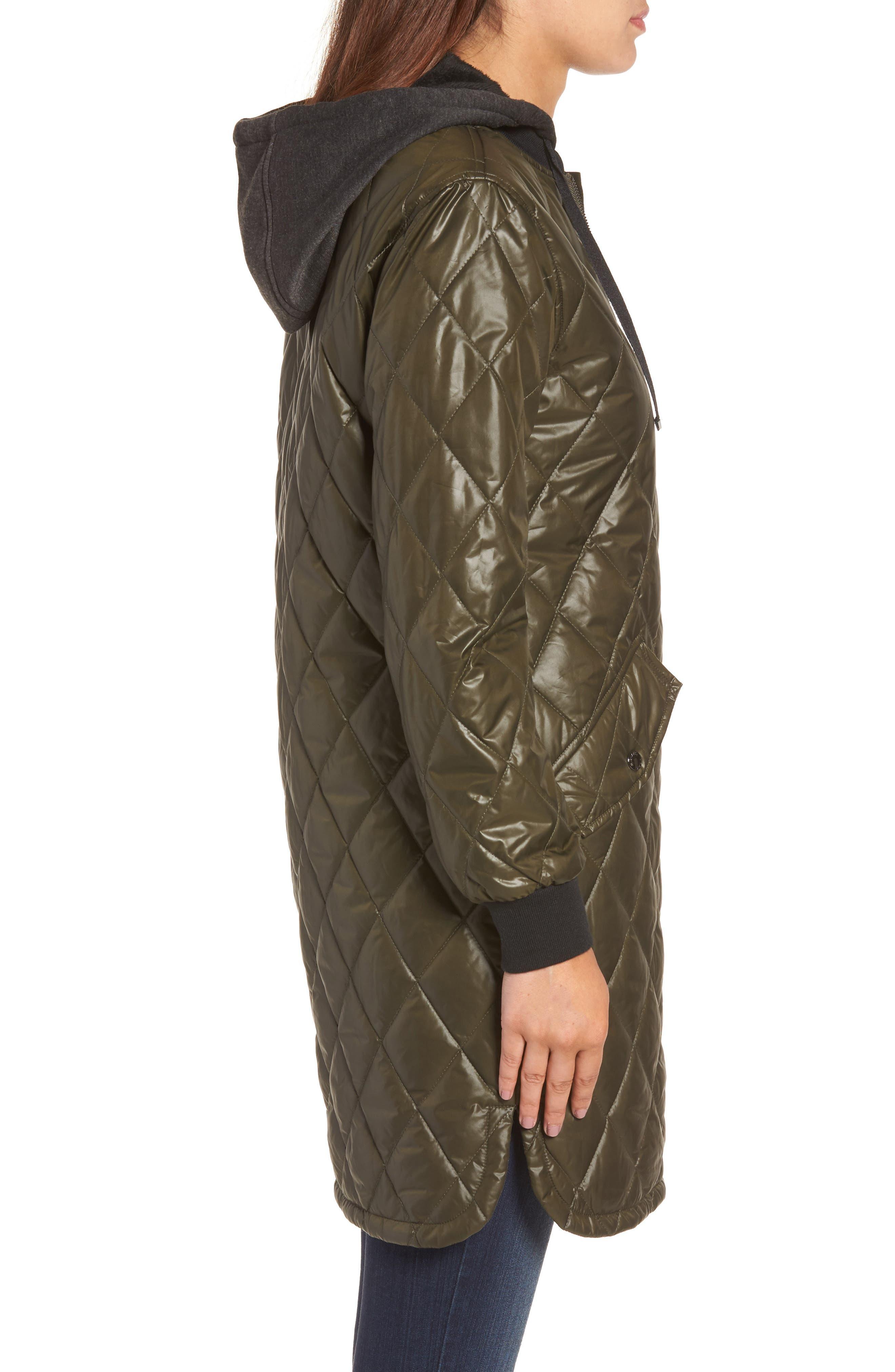 Alternate Image 3  - MICHAEL Michael Kors Quilted Jacket