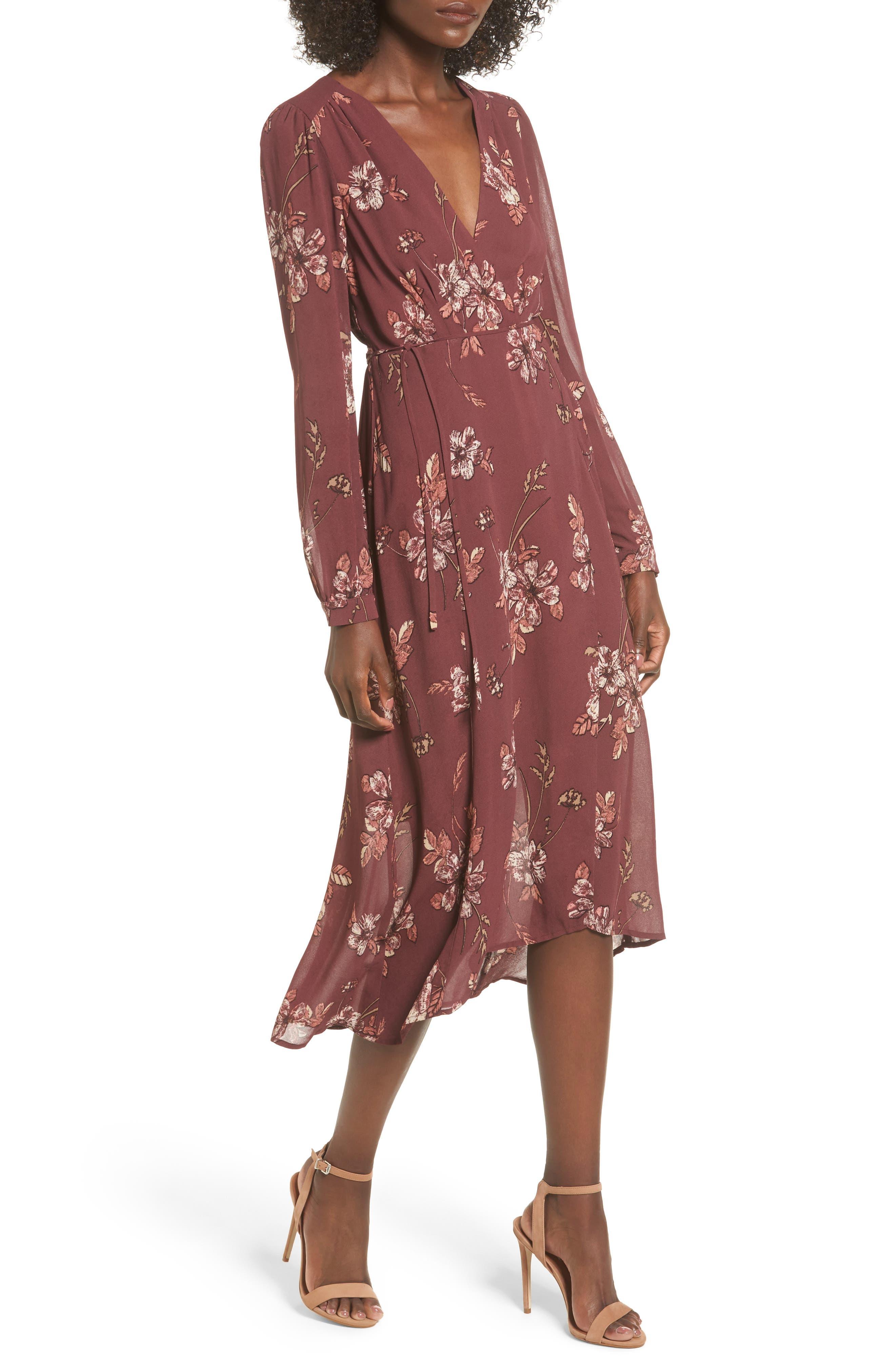 ASTR the Label Nikki Wrap Dress