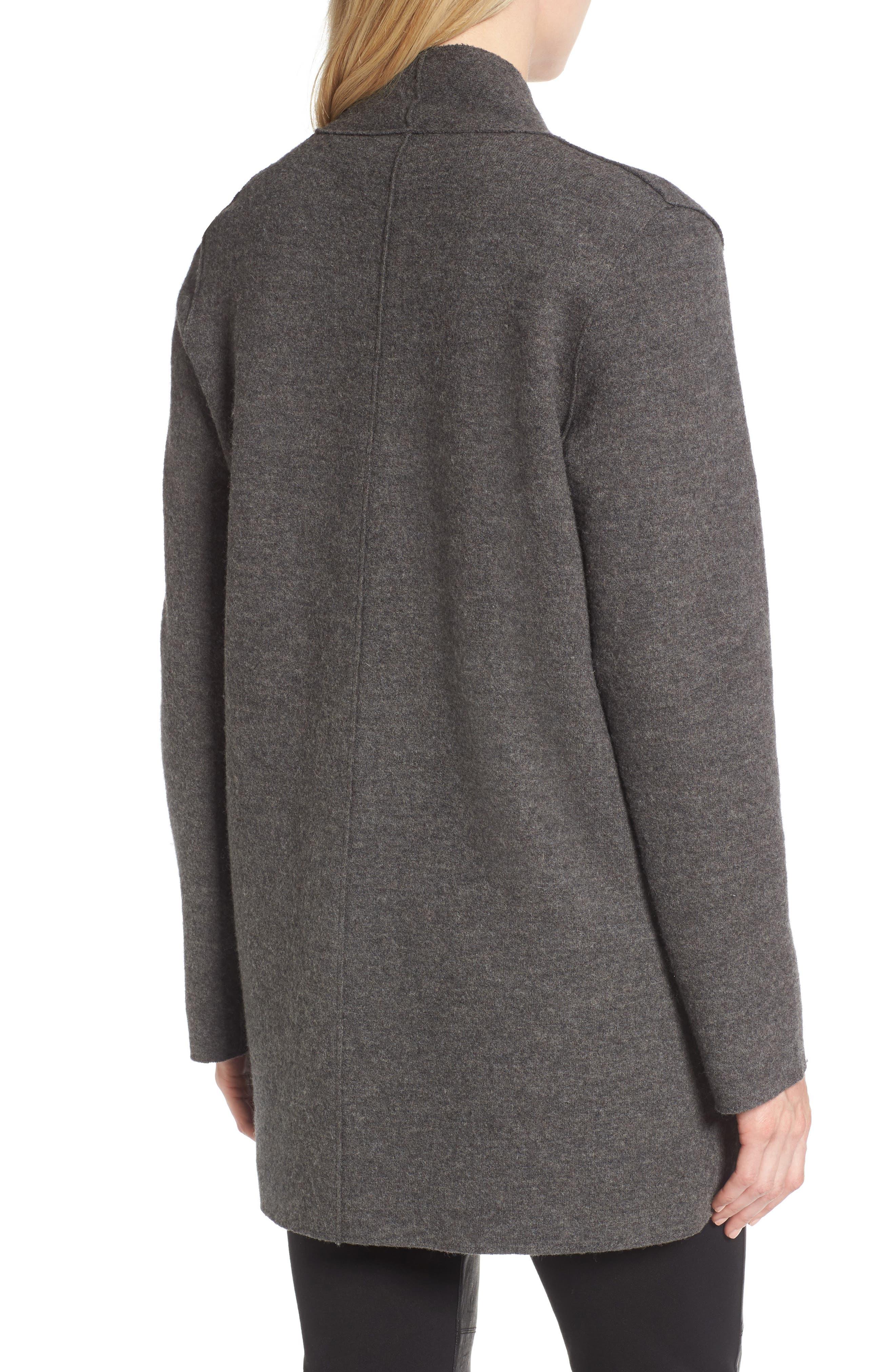 Alternate Image 2  - Eileen Fisher Boiled Wool Jacket