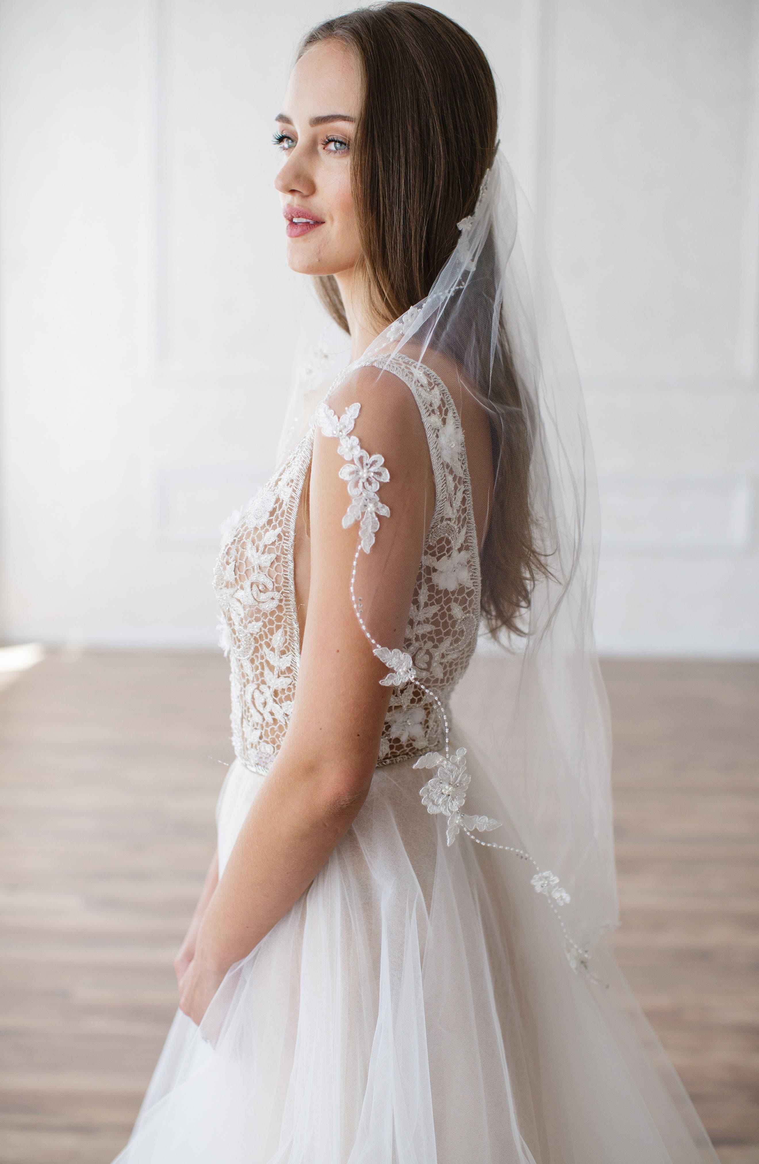 Main Image - Brides & Hairpins Mikaela Embellished Veil