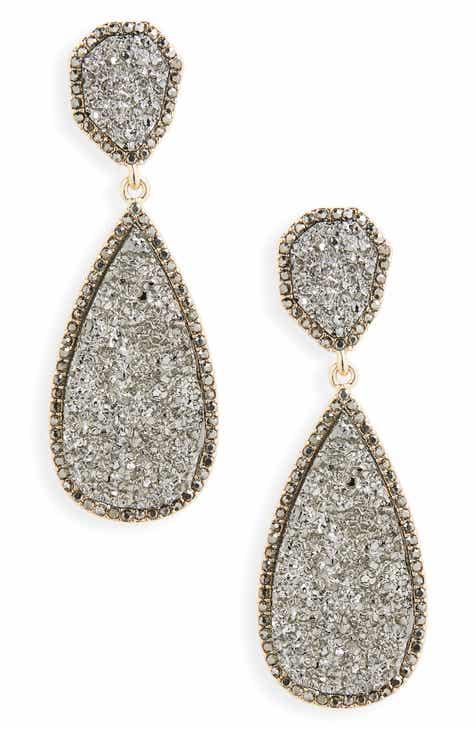 38308d187 Grey Drop Earrings for Women | Nordstrom