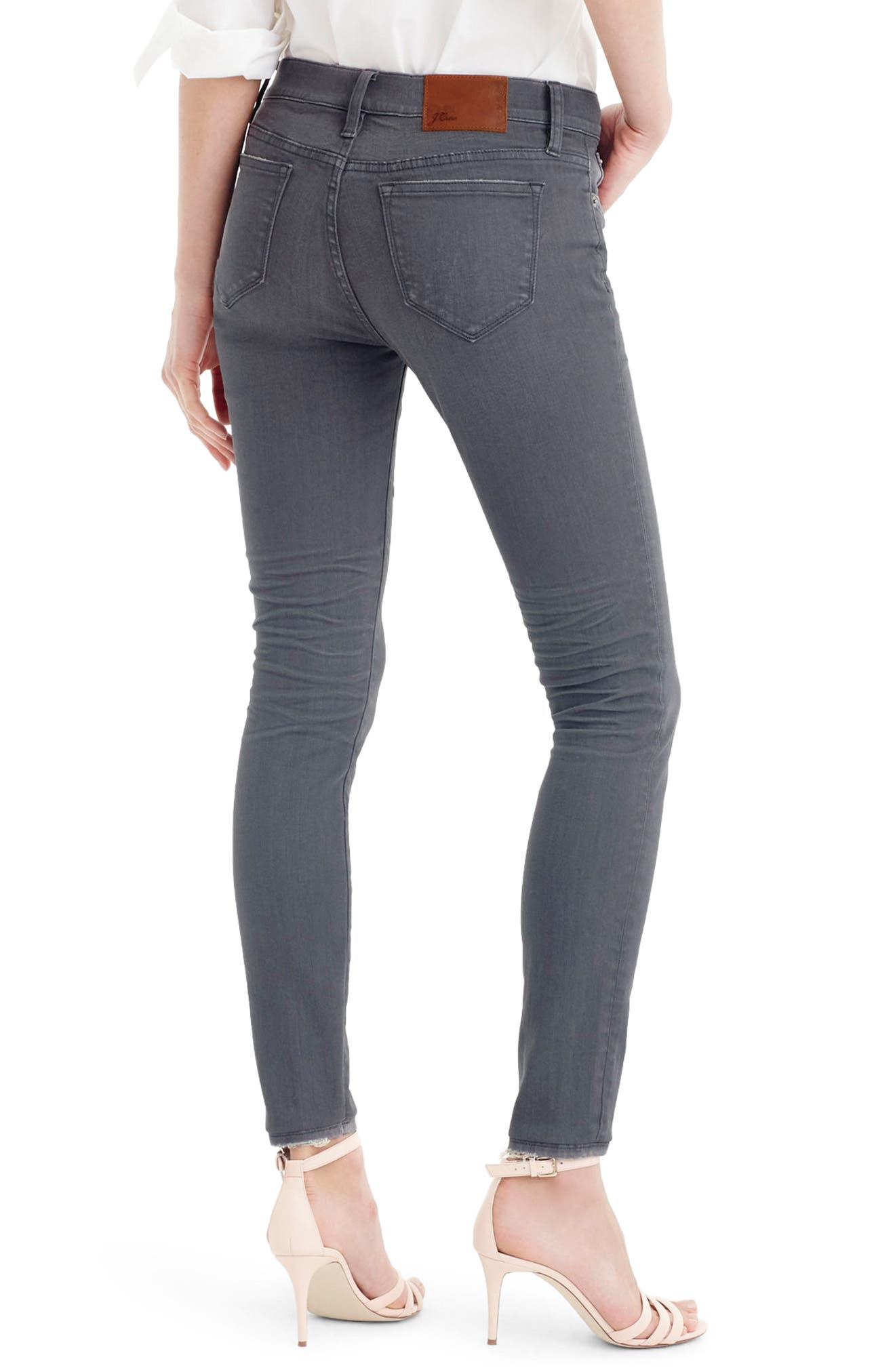 Toothpick Jeans,                             Alternate thumbnail 2, color,                             Grey Dove