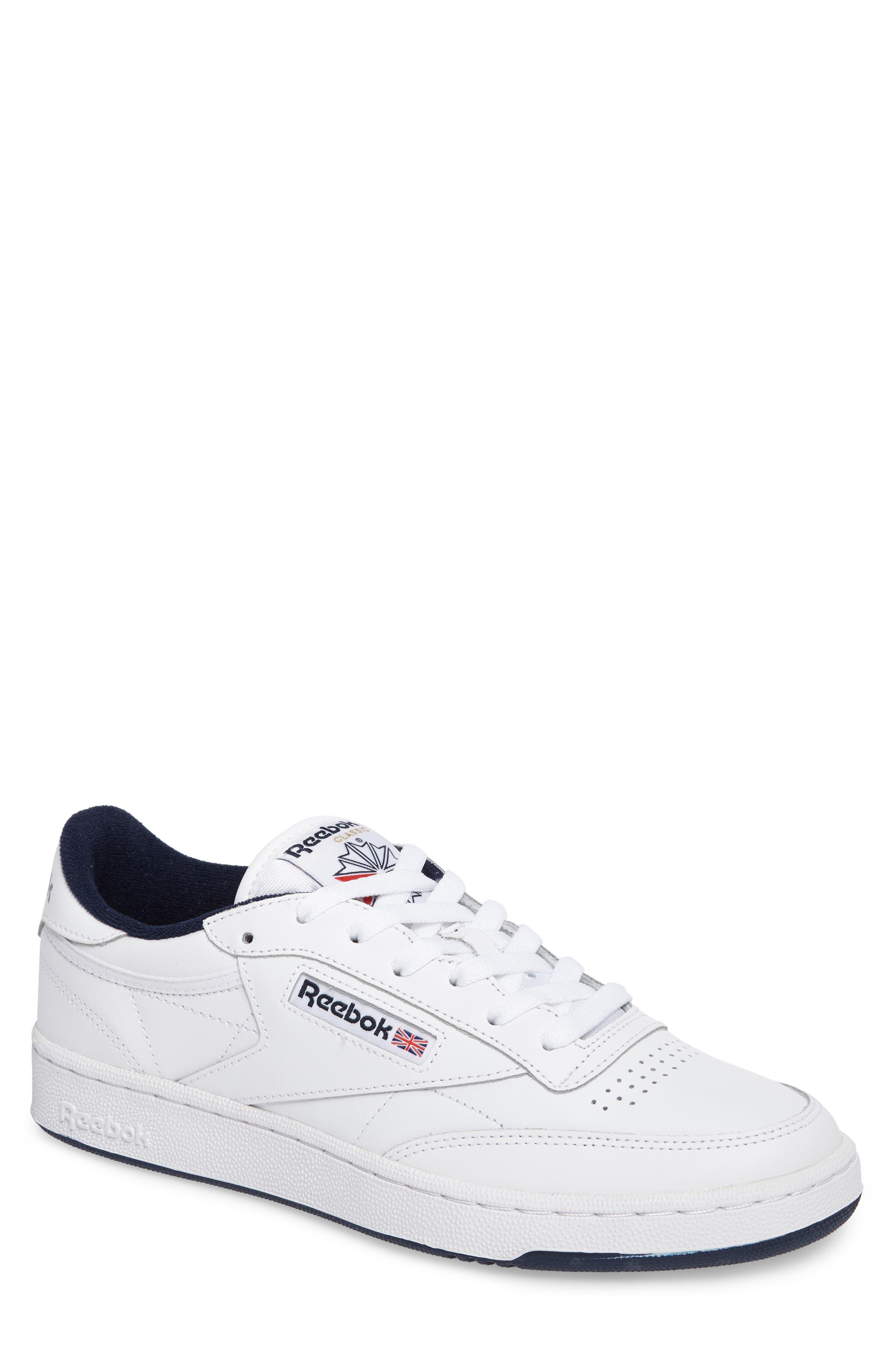 Reebok Club C 85 Sneaker (Men). WHITE ...
