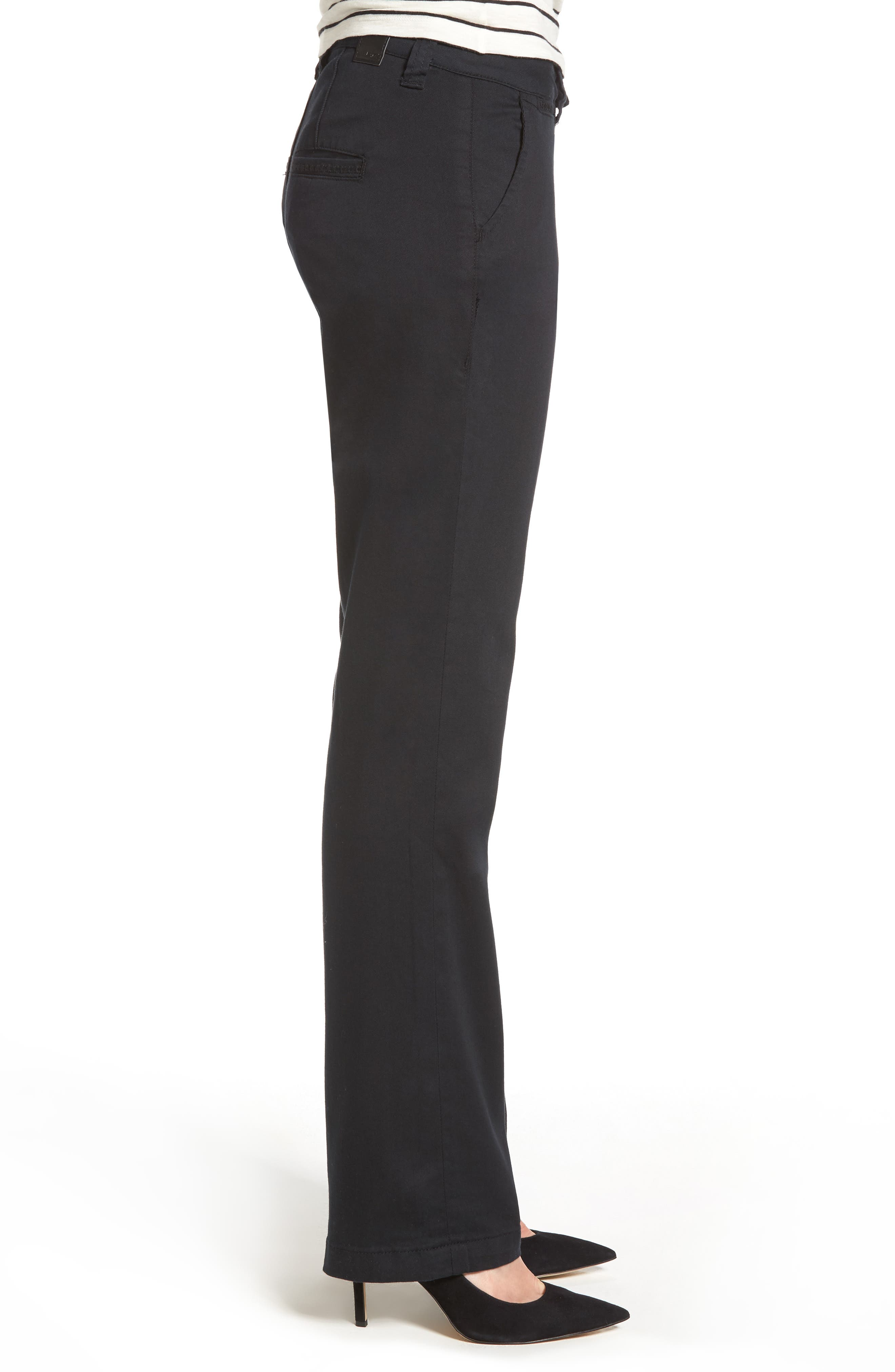 Alternate Image 3  - Jag Jeans Standard Stretch Twill Trousers (Regular & Petite)