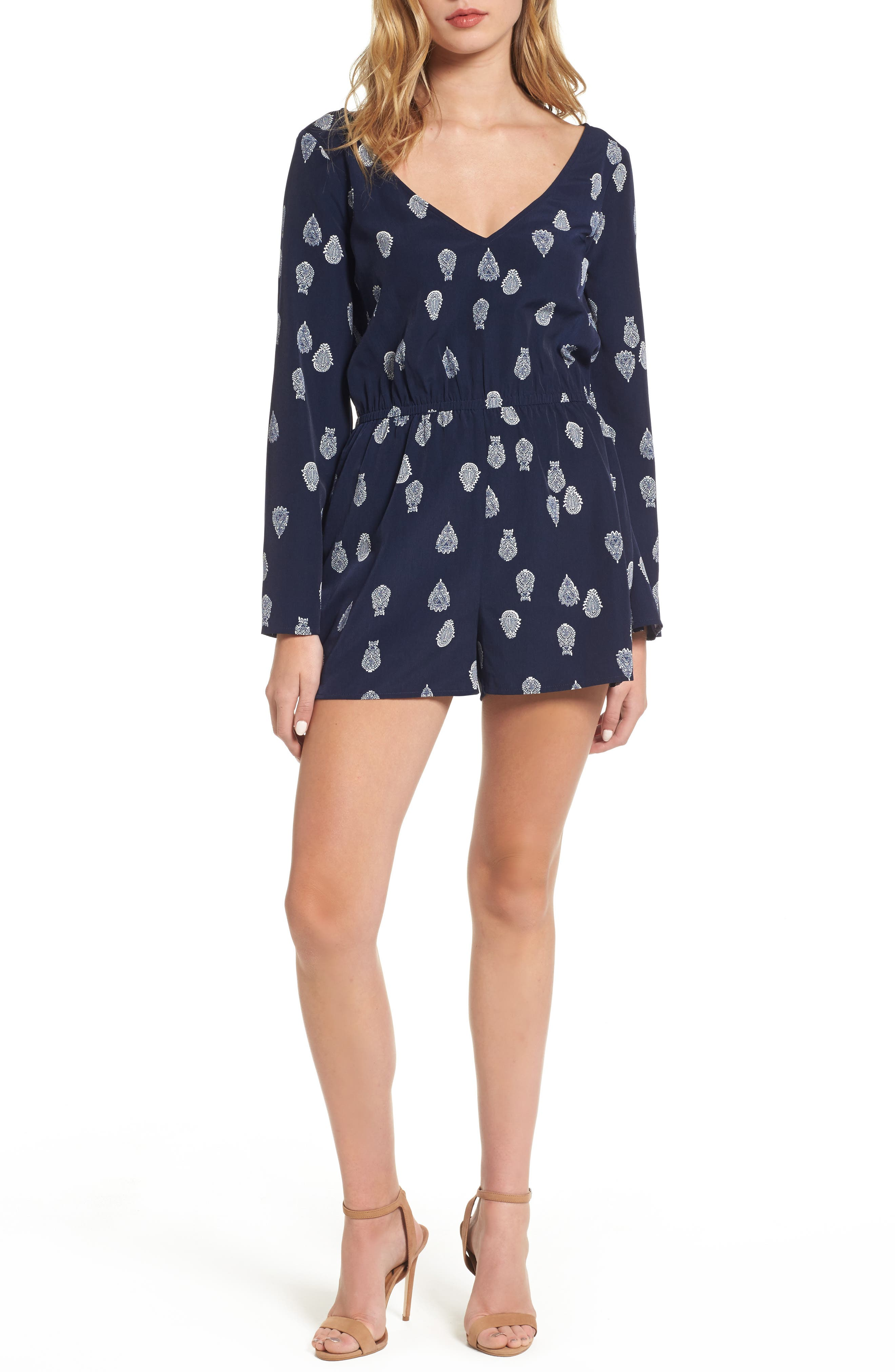 Main Image - cupcakes and cashmere Harley Romper