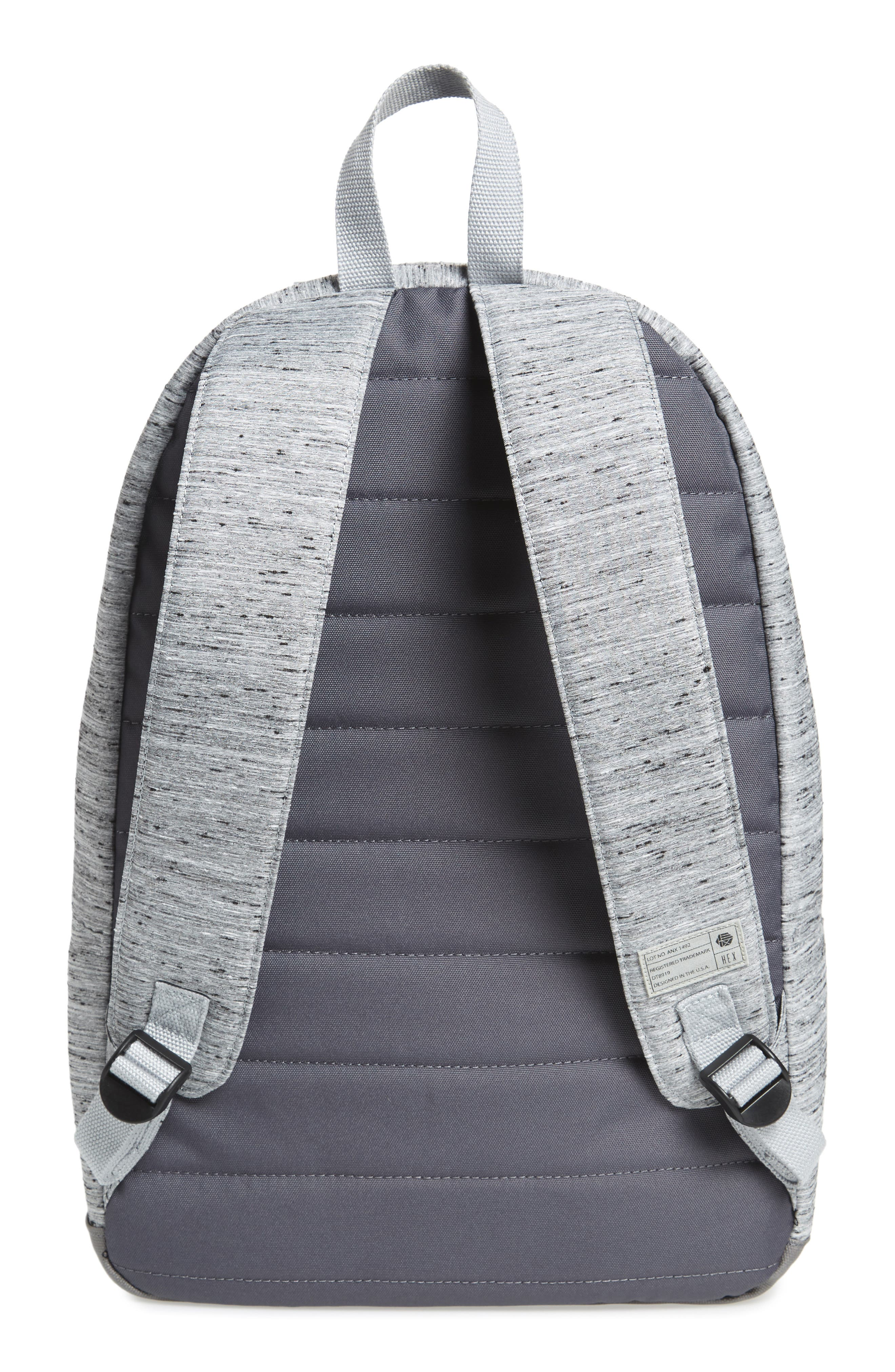 'Echo' Backpack,                             Alternate thumbnail 3, color,                             Annex Grey Slub