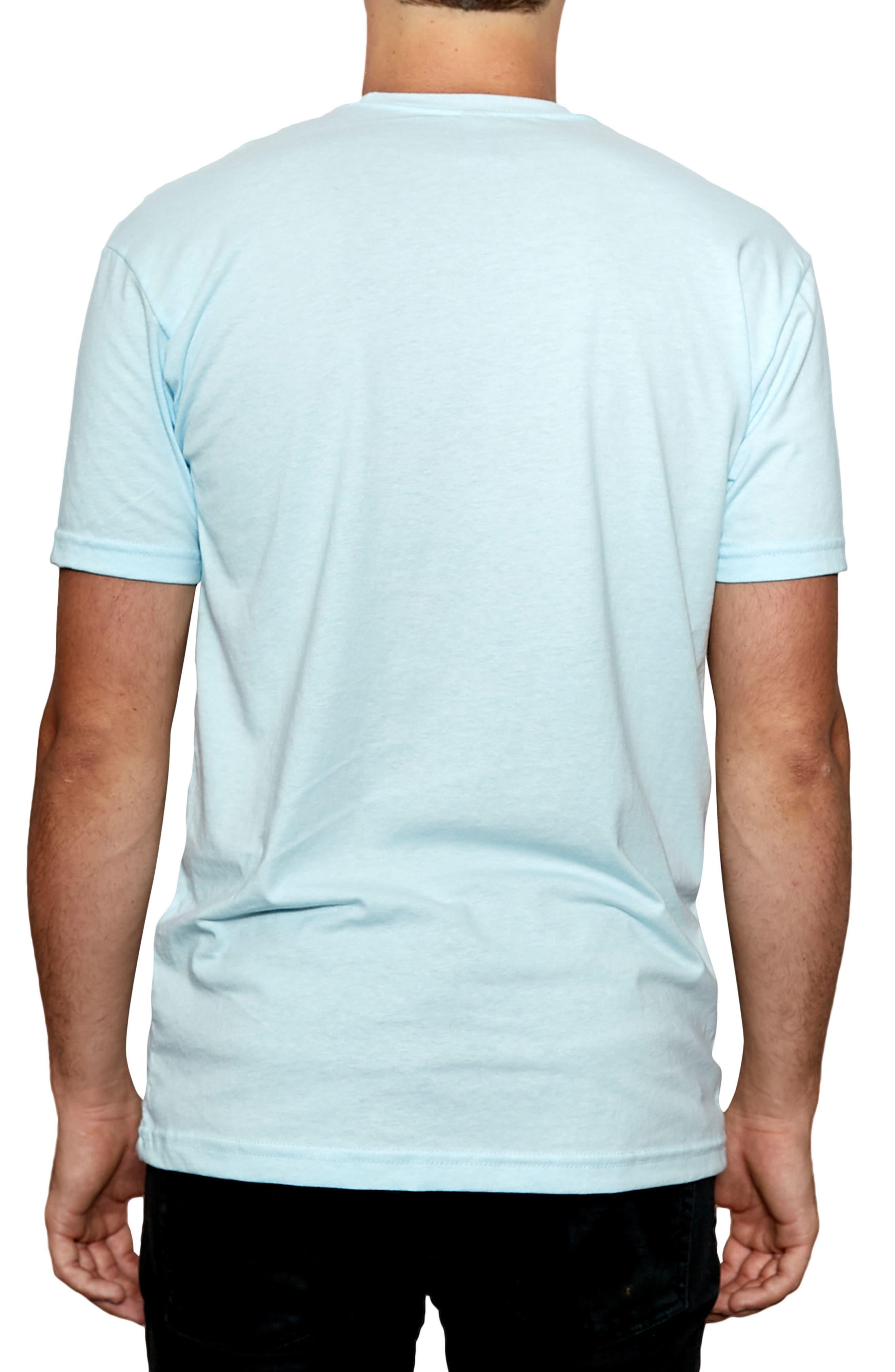 Check Please Graphic T-Shirt,                             Alternate thumbnail 2, color,                             Light Blue