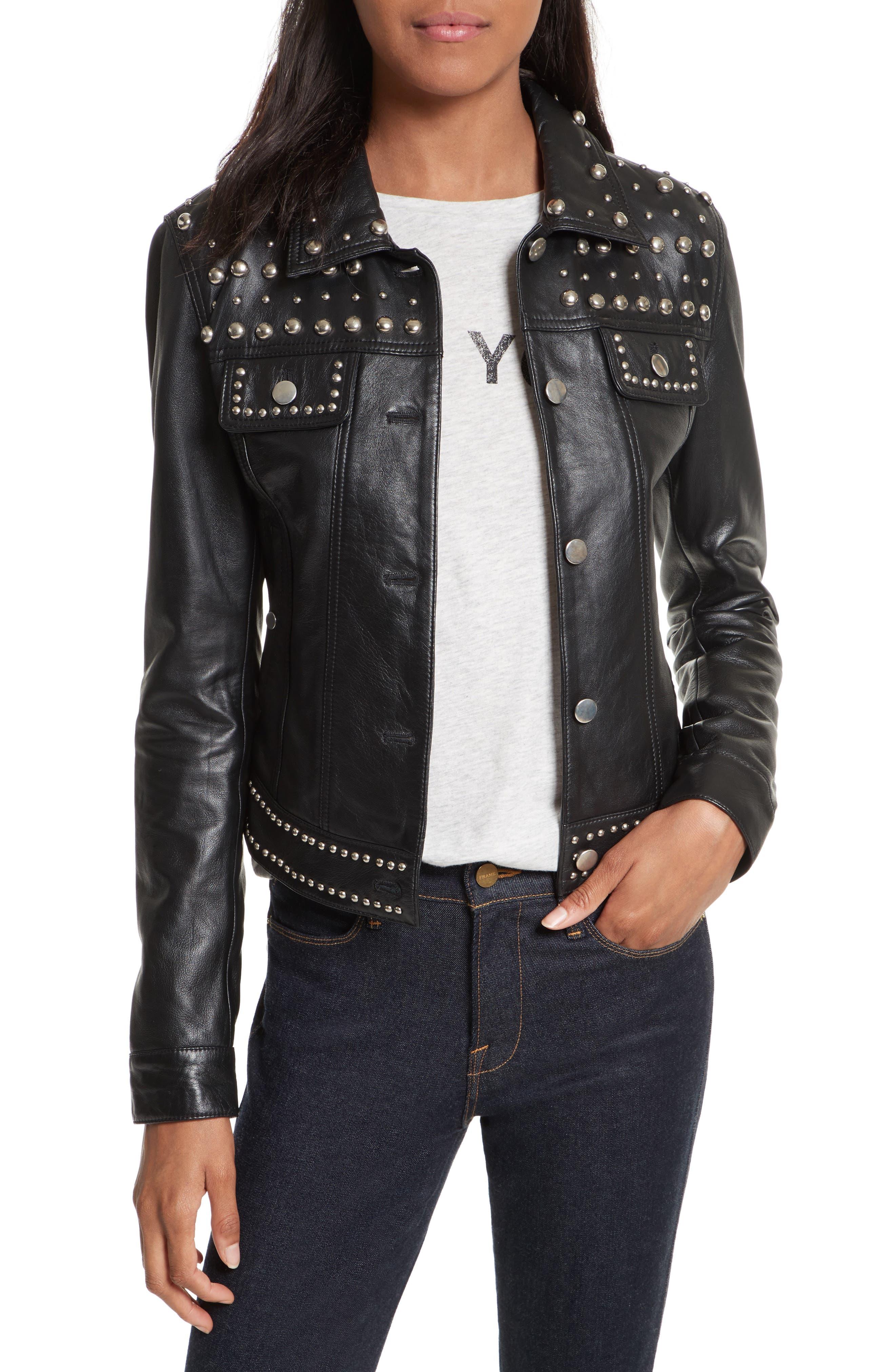 Rebecca Minkoff Annatto Leather Jacket