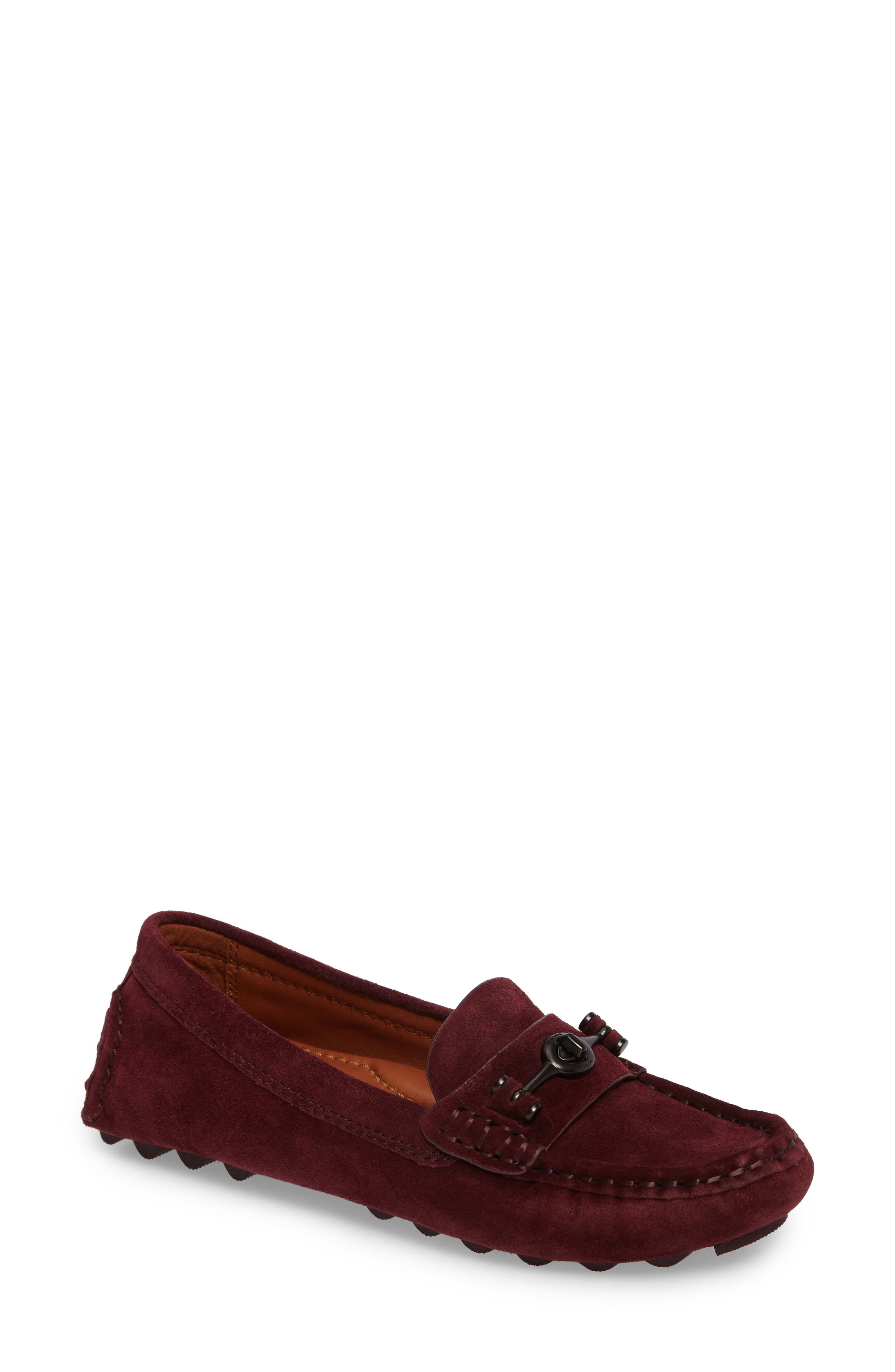 Main Image - Coach Crosby Driving Loafer (Women)