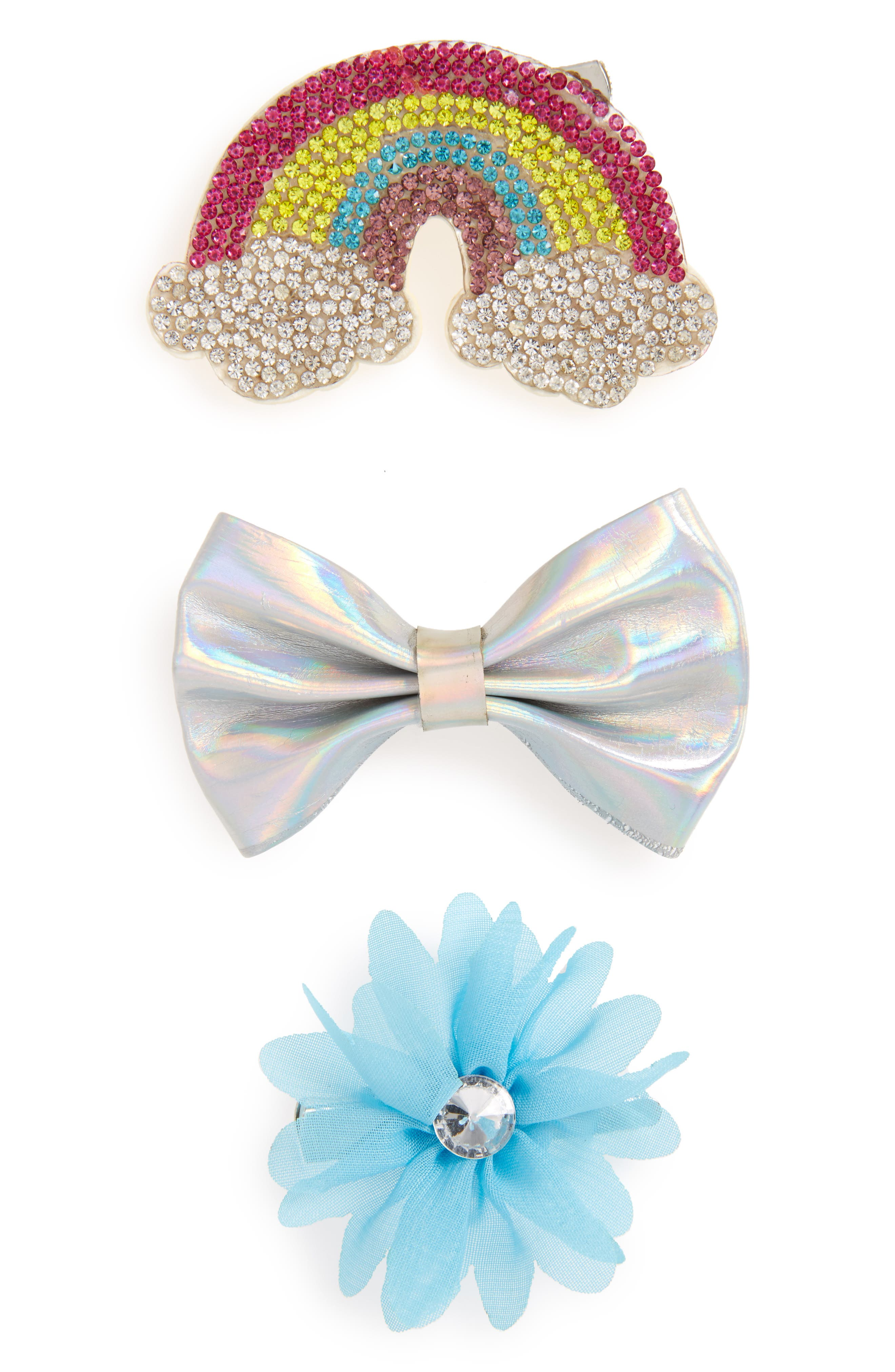 Capelli of New York 3-Piece Hair Clip Set (Girls)