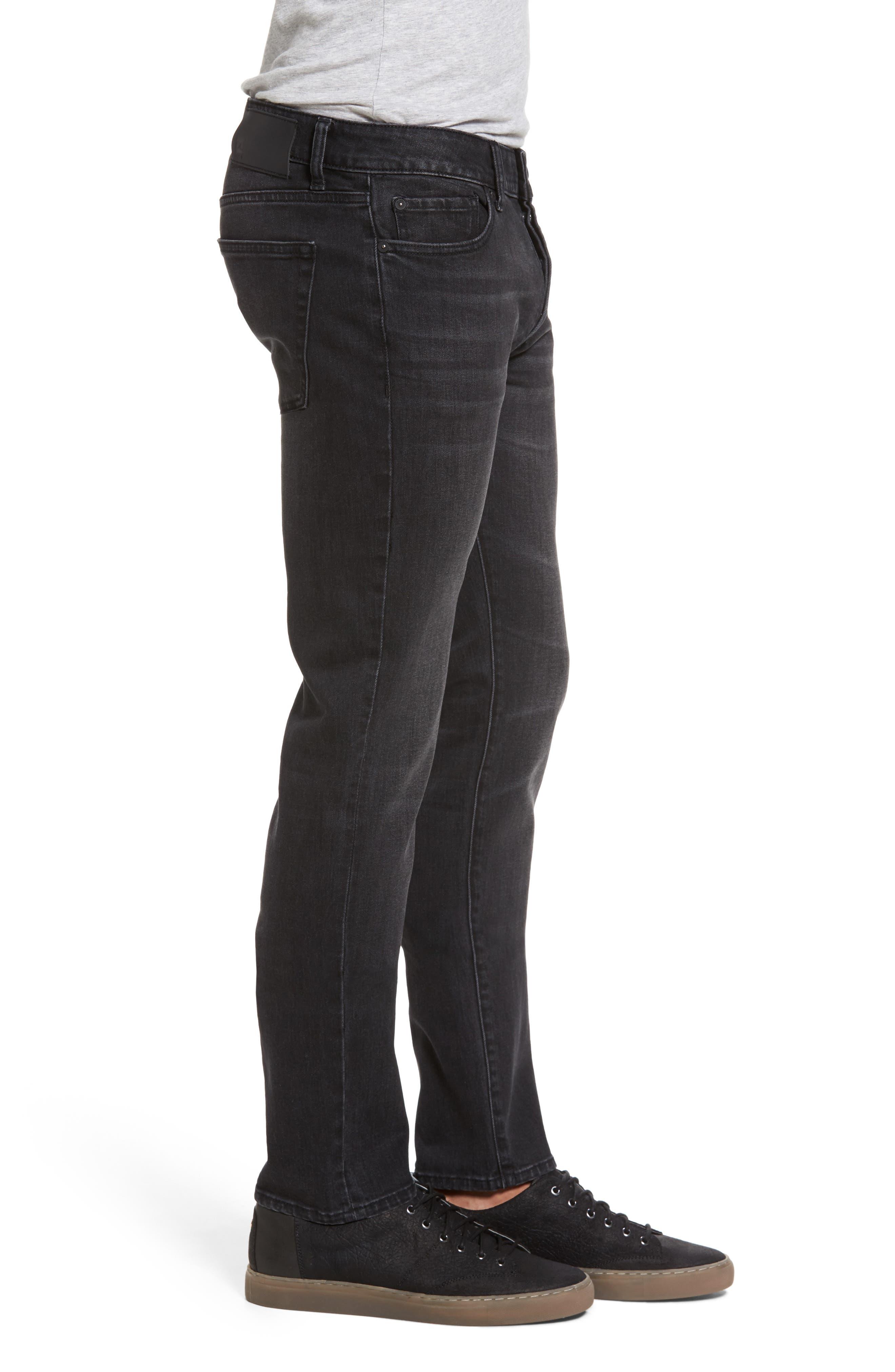 Alternate Image 3  - DL1961 Nick Slim Fit Jeans (Jet)