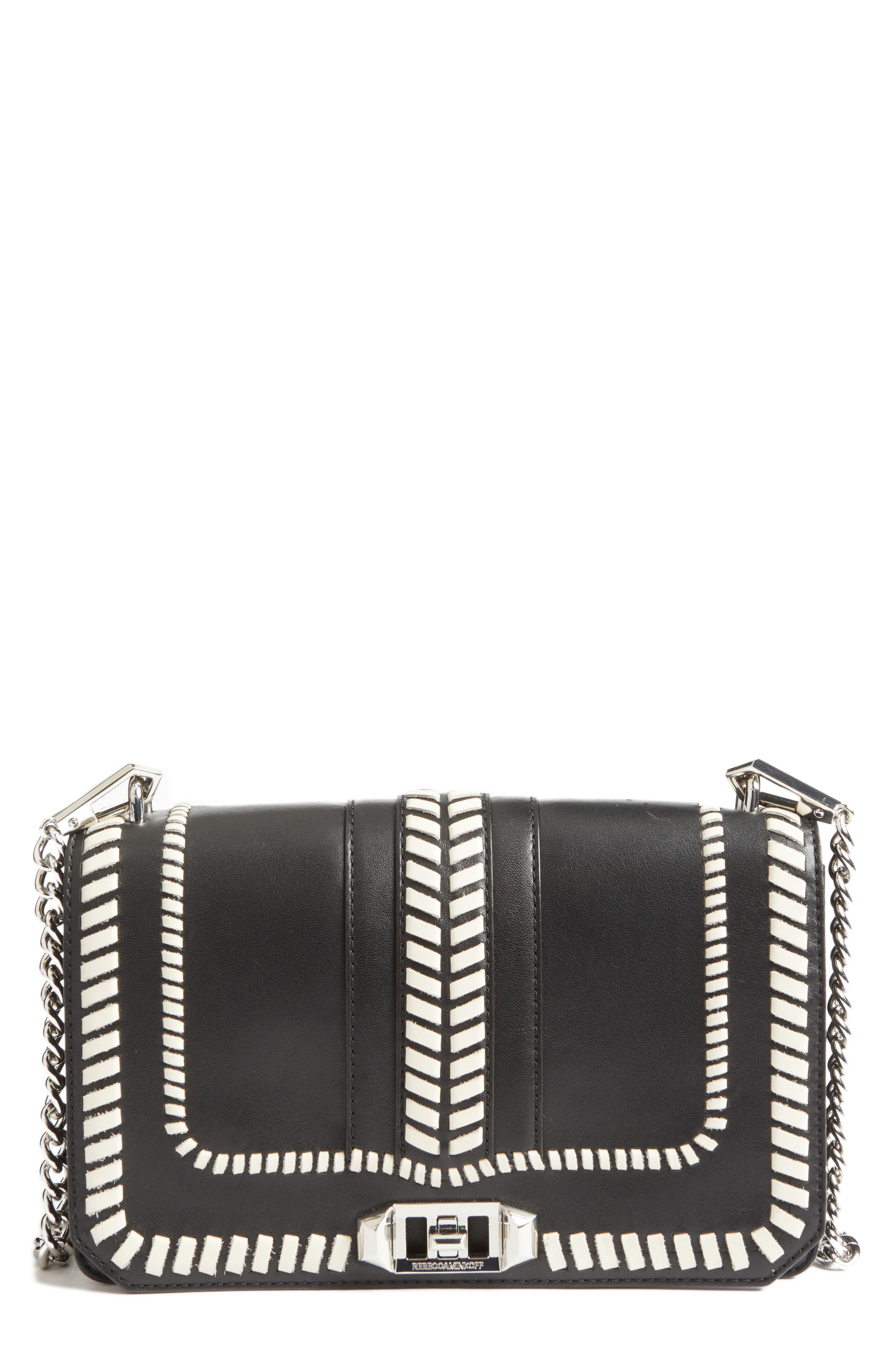 Alternate Image 1 Selected - Rebecca Minkoff Love Leather Convertible Crossbody Bag