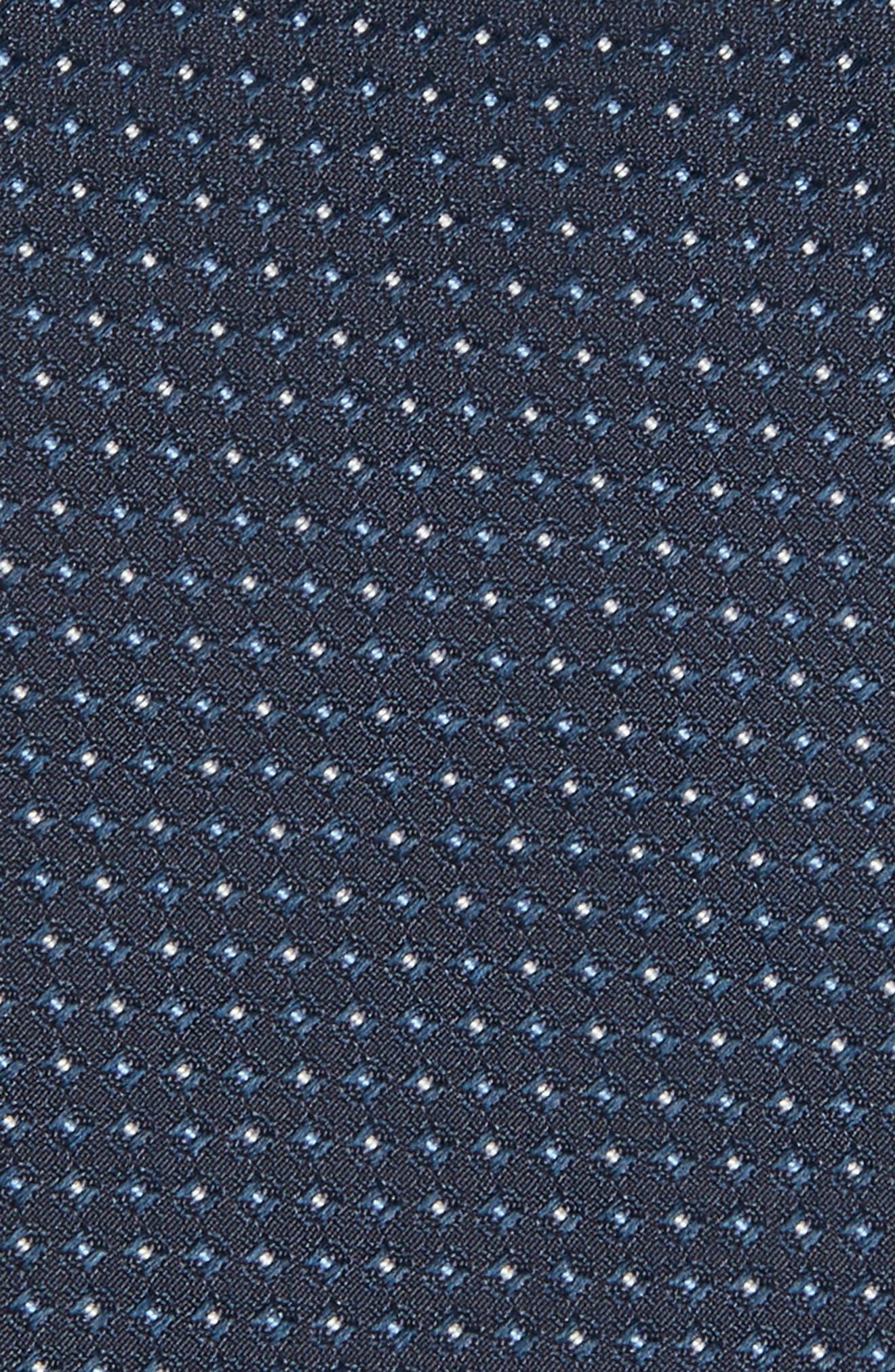 Alternate Image 2  - BOSS Dot Silk Tie