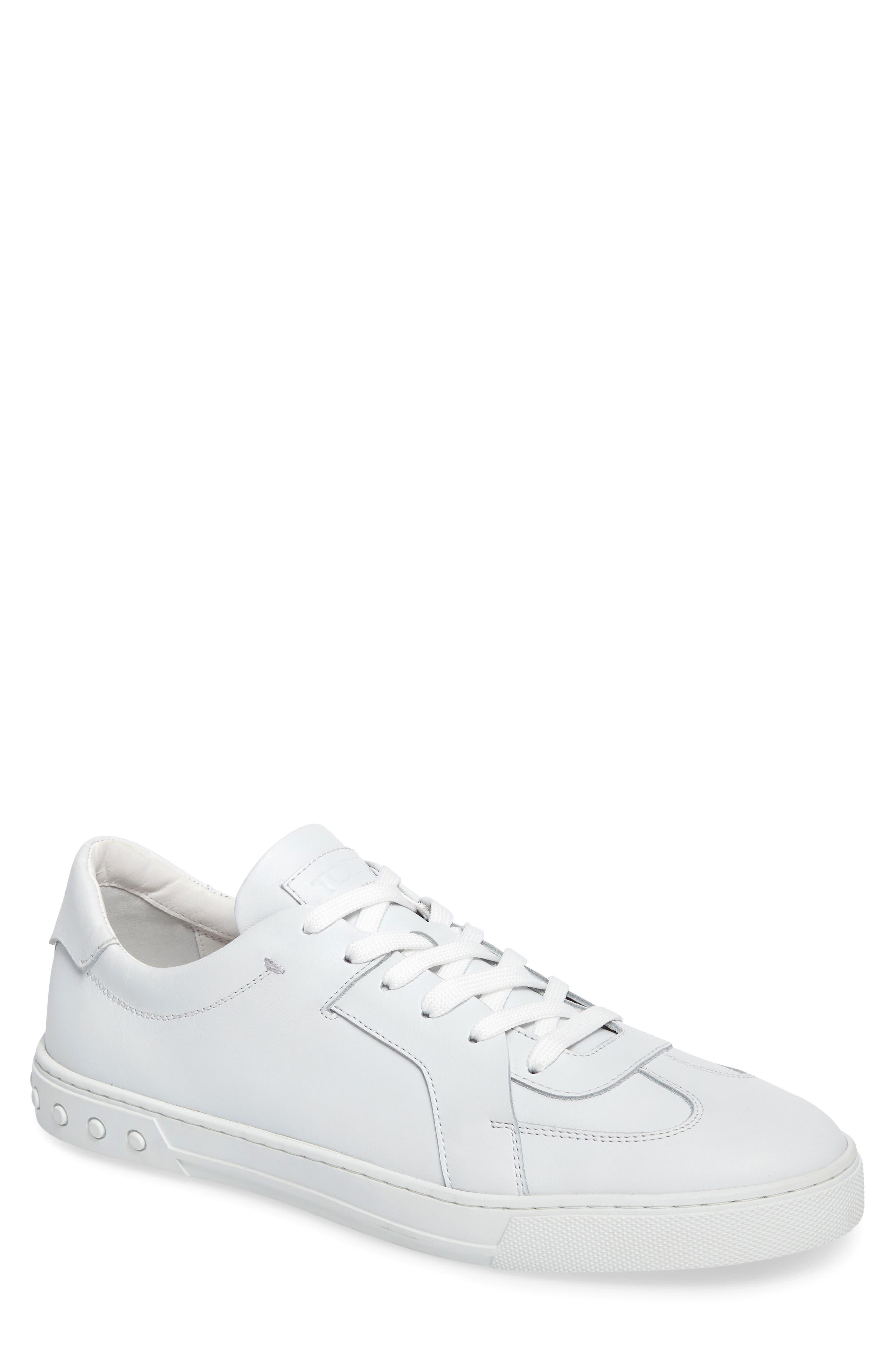 Alternate Image 1 Selected - Tod's Cassetta Leather Sneaker (Men)