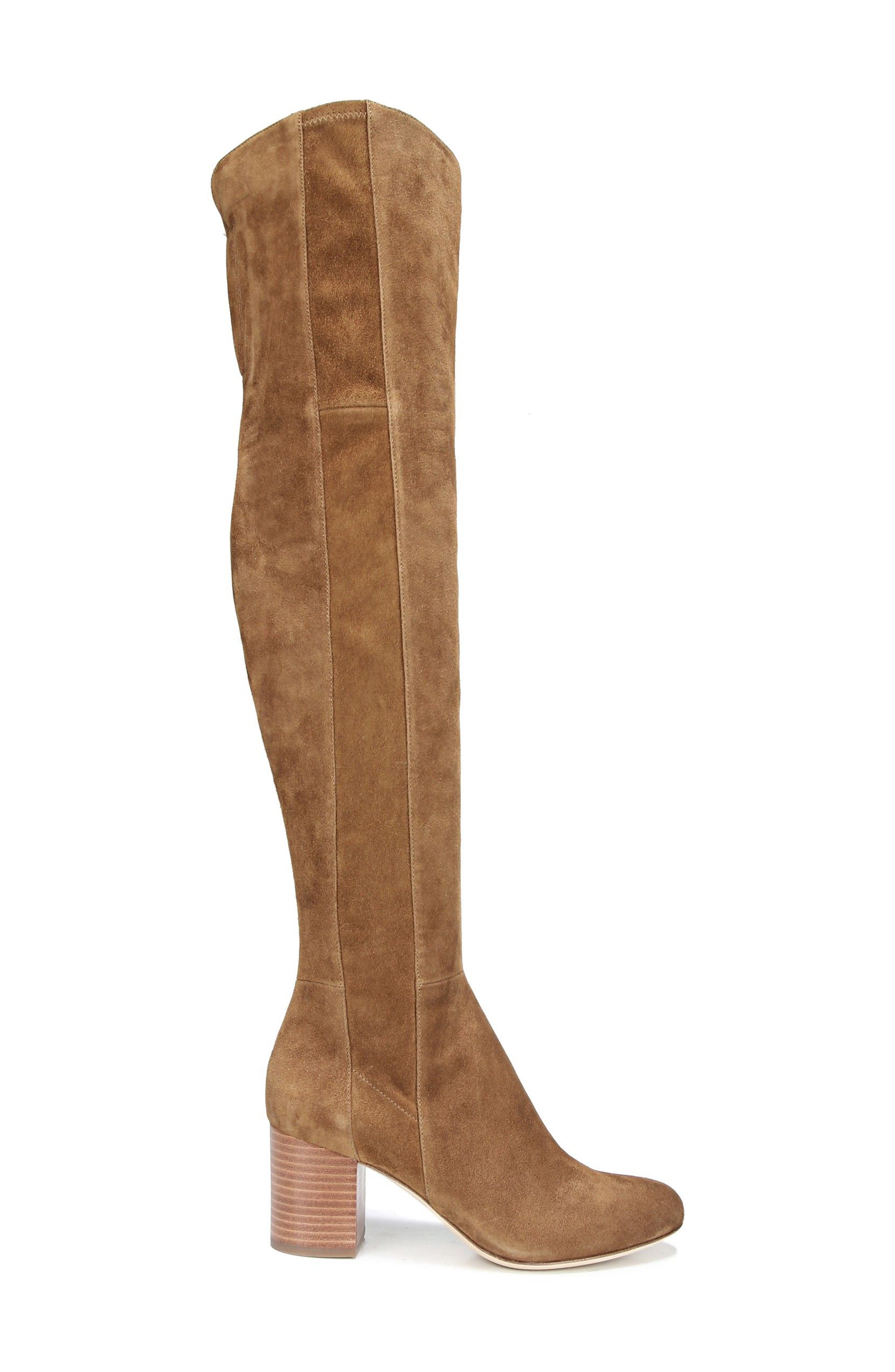 Luzzi Over the Knee Boot,                             Alternate thumbnail 3, color,                             Clove