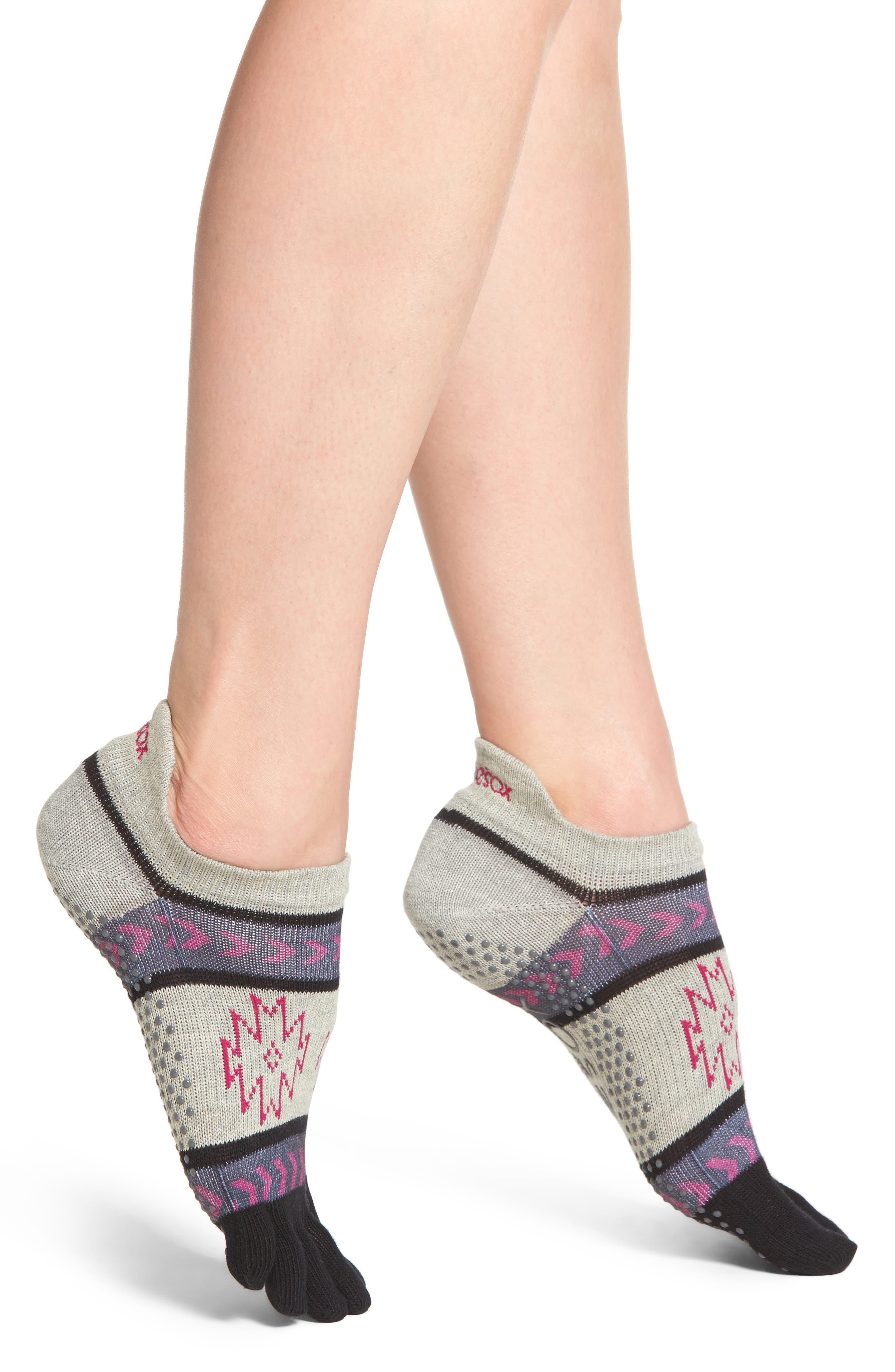 Main Image - ToeSox Full Toe Grip Socks