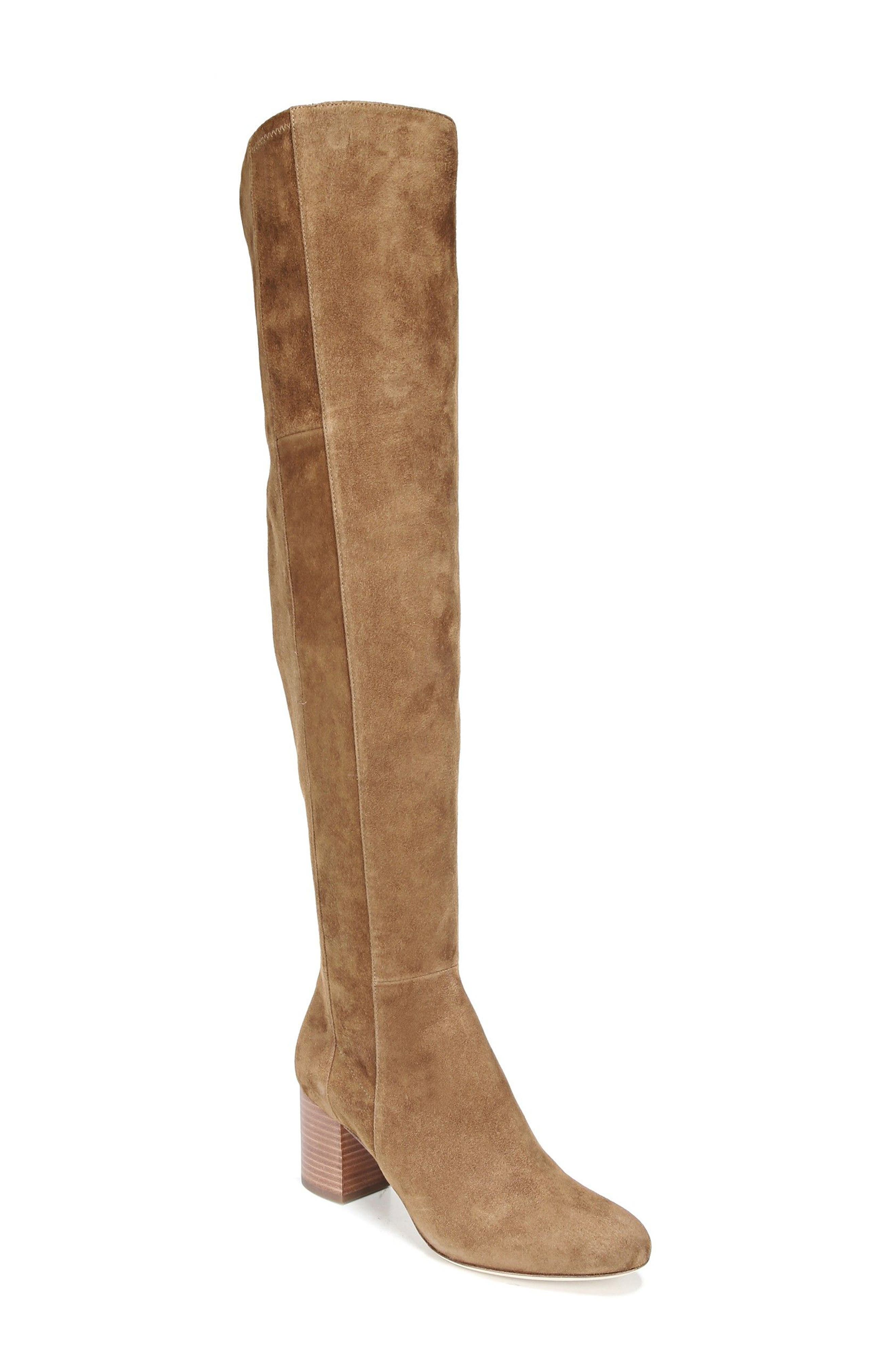 Luzzi Over the Knee Boot,                             Main thumbnail 1, color,                             Clove