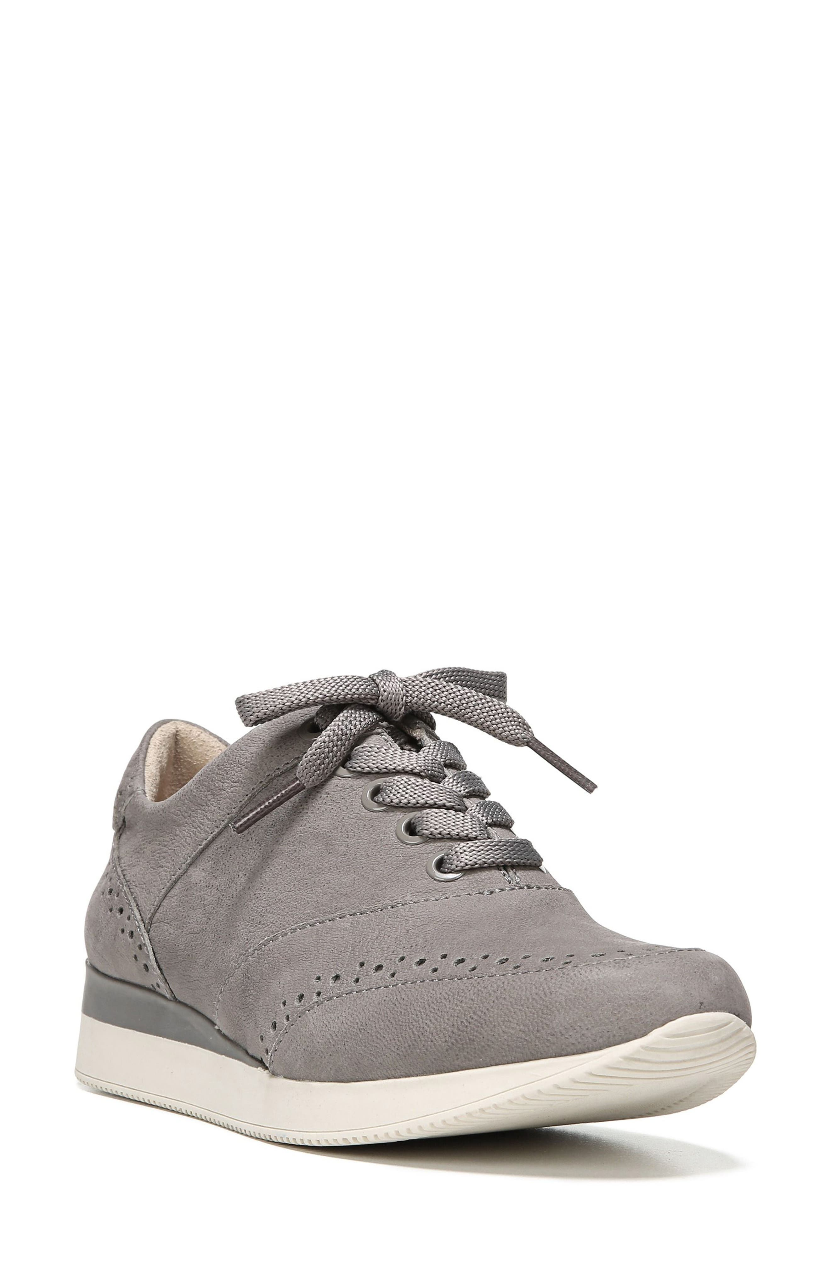 Jimi 2 Perforated Sneaker,                         Main,                         color, Modern Grey Nubuck Leather