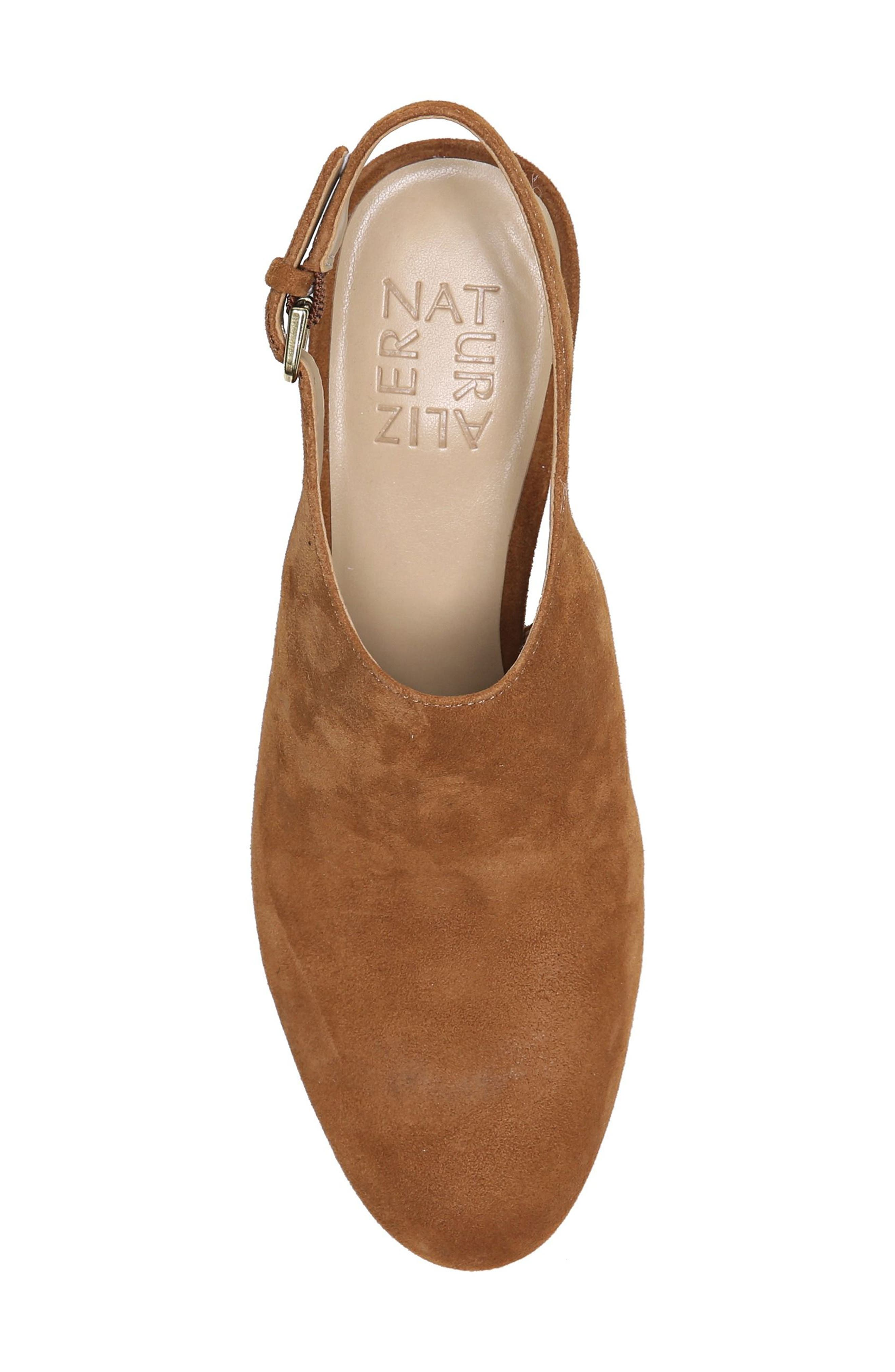 Margo Pump,                             Alternate thumbnail 5, color,                             Whiskey Suede