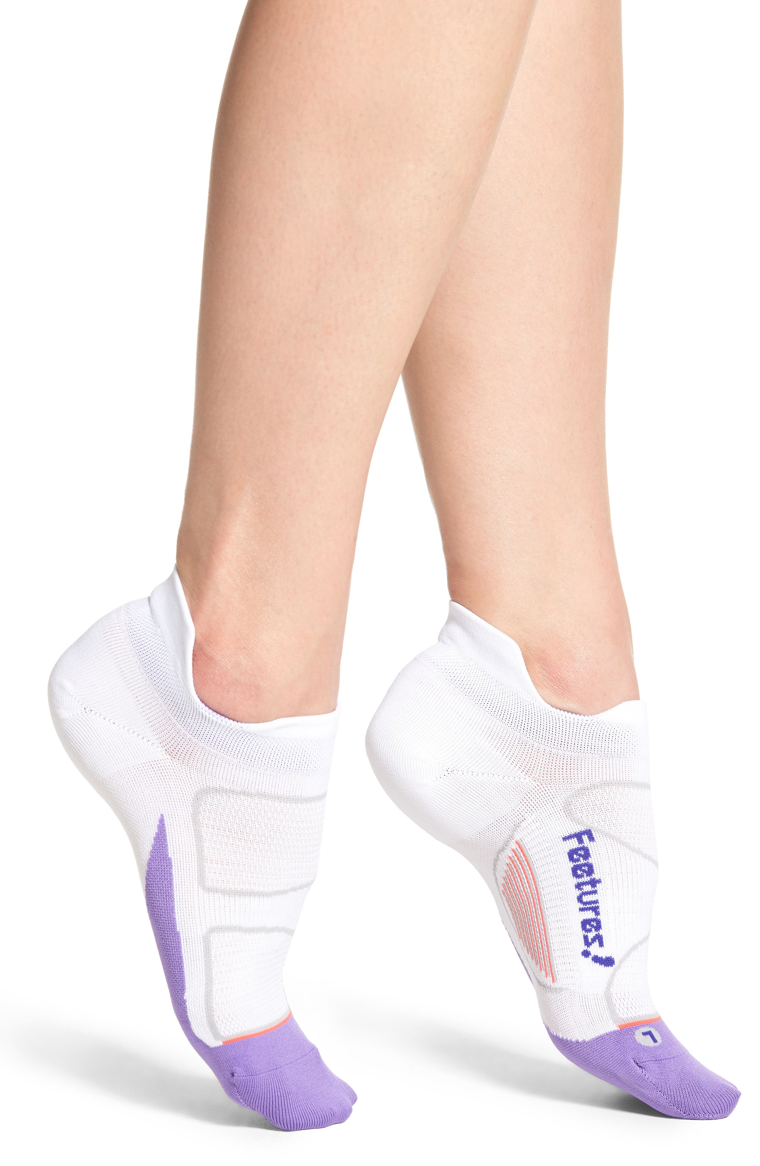 Main Image - Feetures Elite Ultra Light No-Show Running Socks