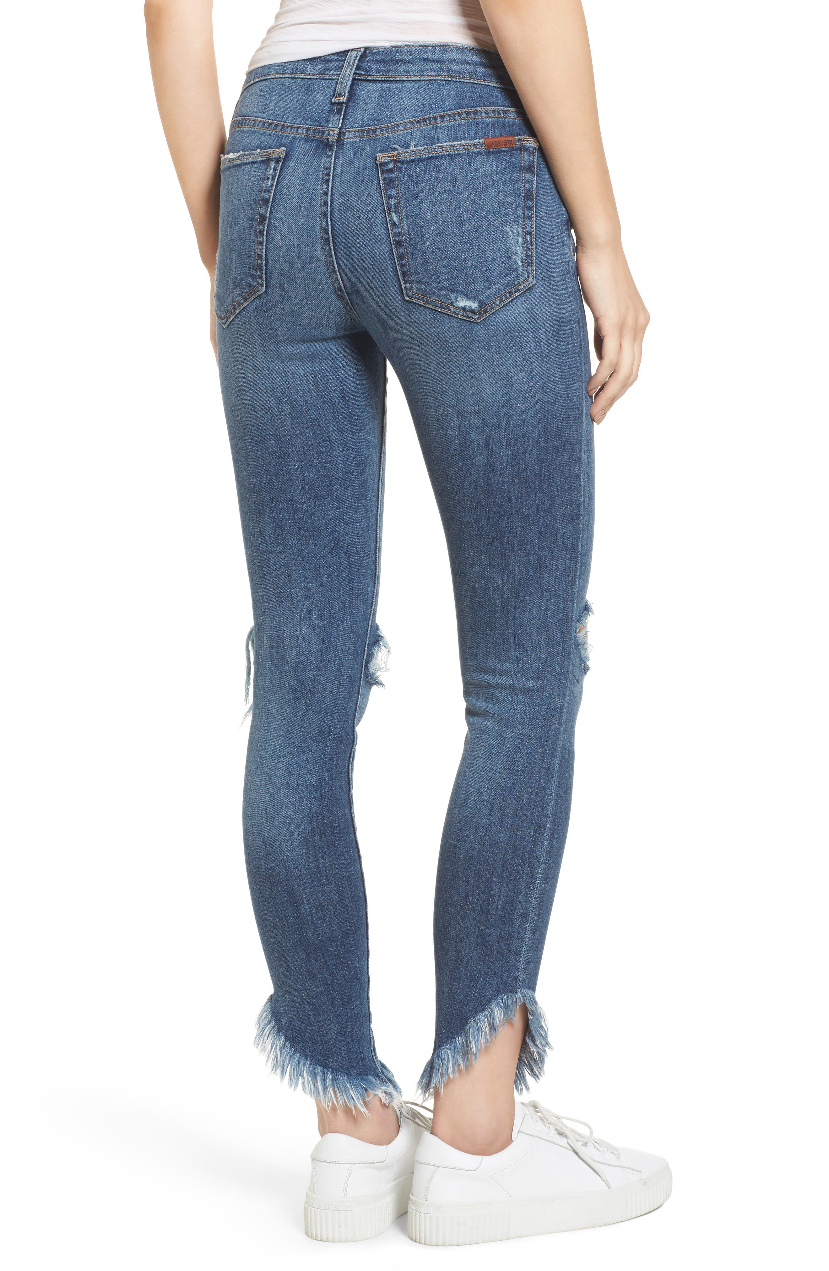 Icon Ankle Skinny Jeans,                             Alternate thumbnail 2, color,                             Aydin
