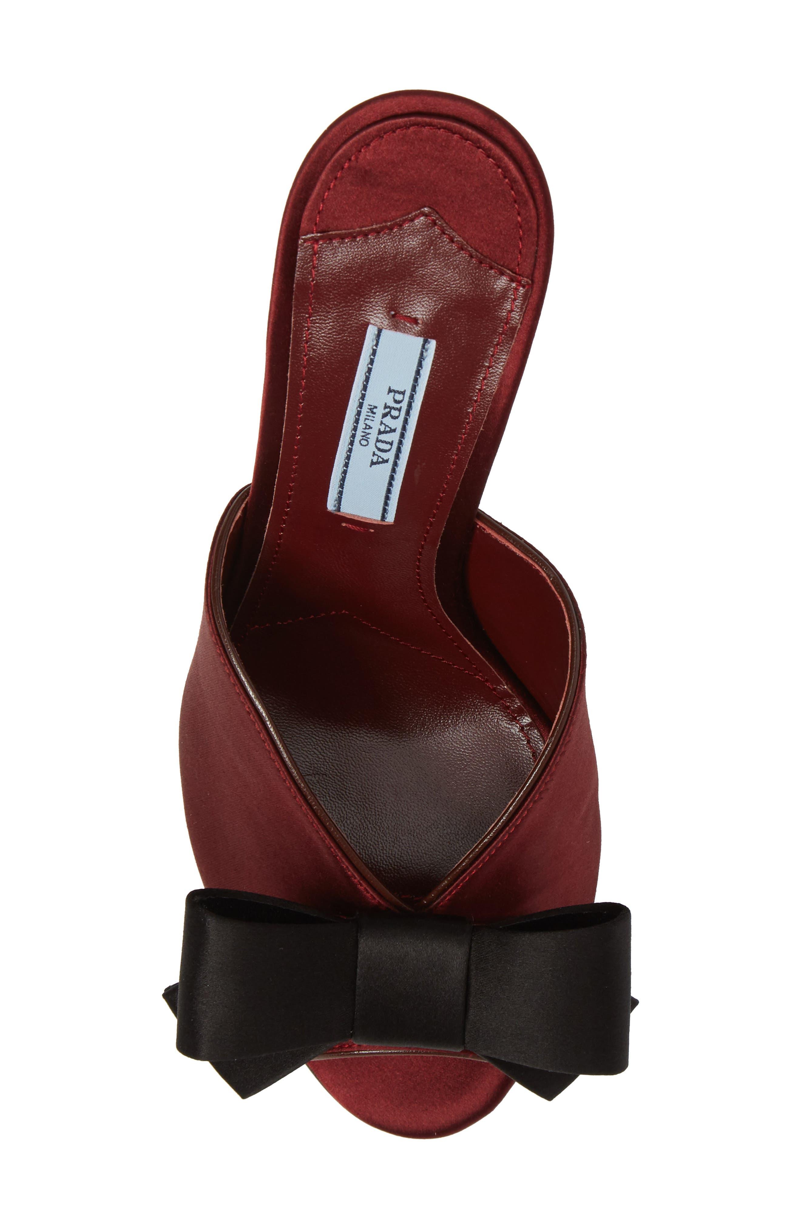 Alternate Image 5  - Prada Bow Sandal (Women)