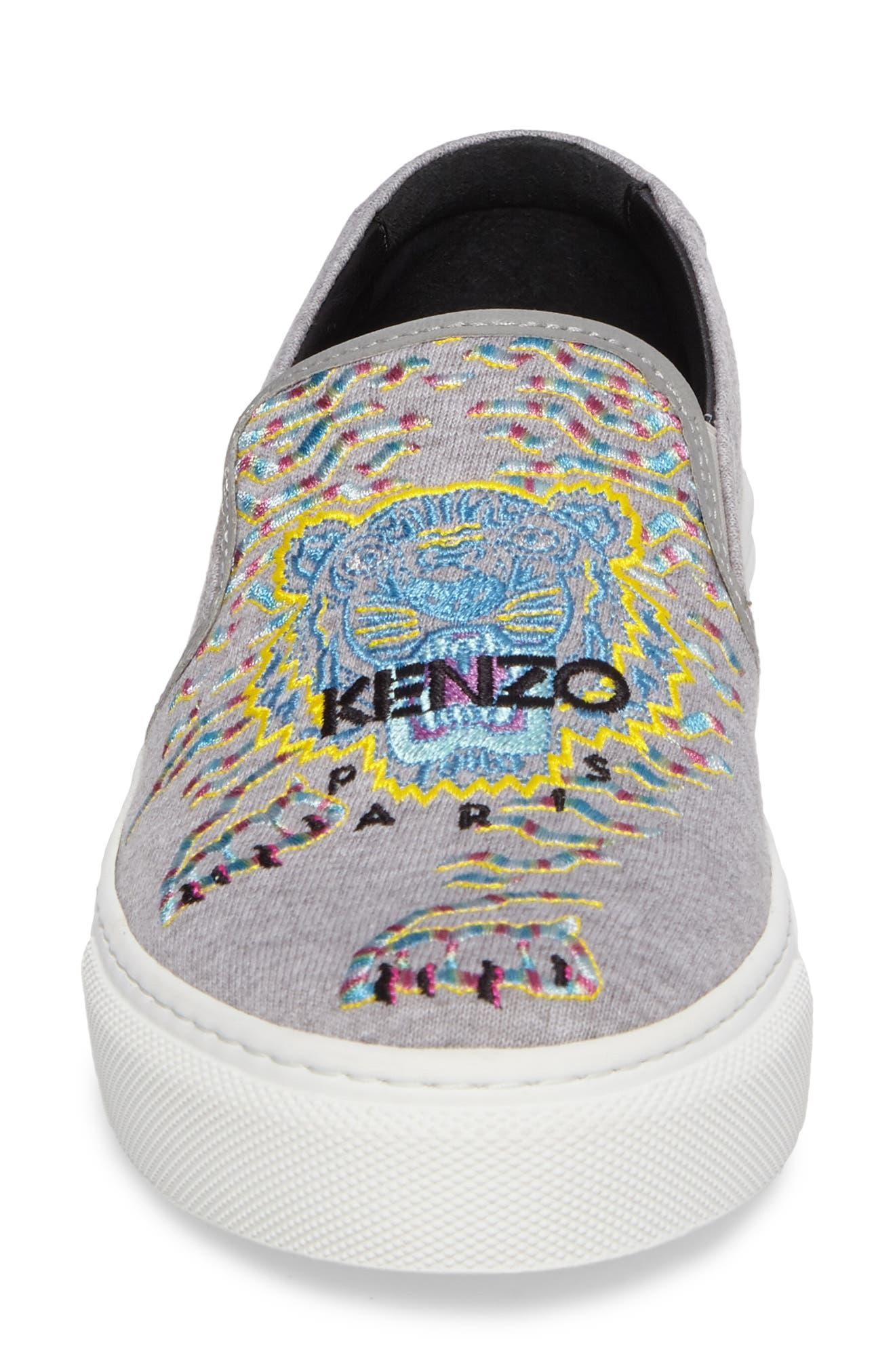 Alternate Image 4  - KENZO K Skate Embroidered Slip-On Sneaker (Women)