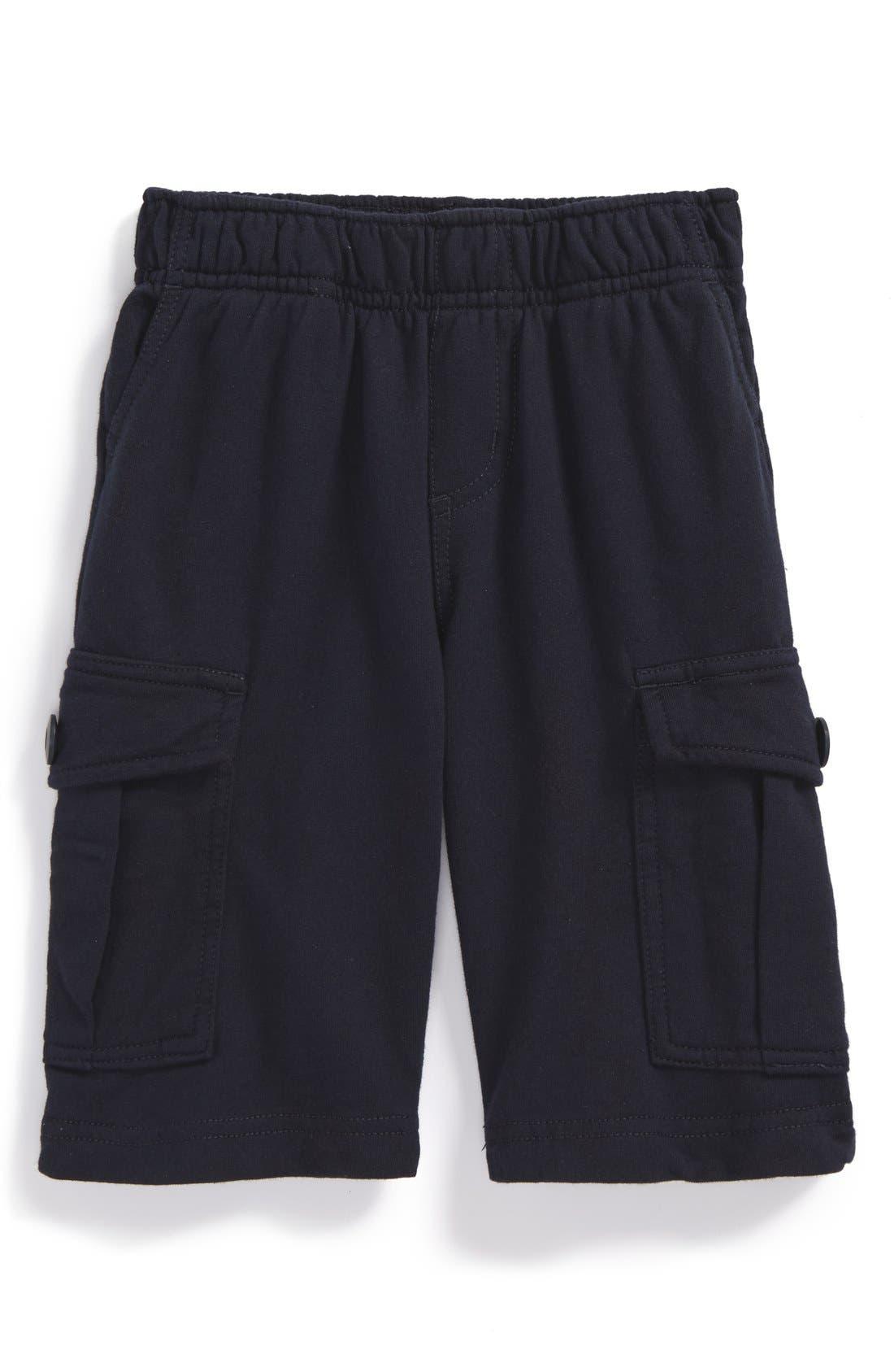 Cotton Cargo Shorts,                         Main,                         color, Heritage Blue