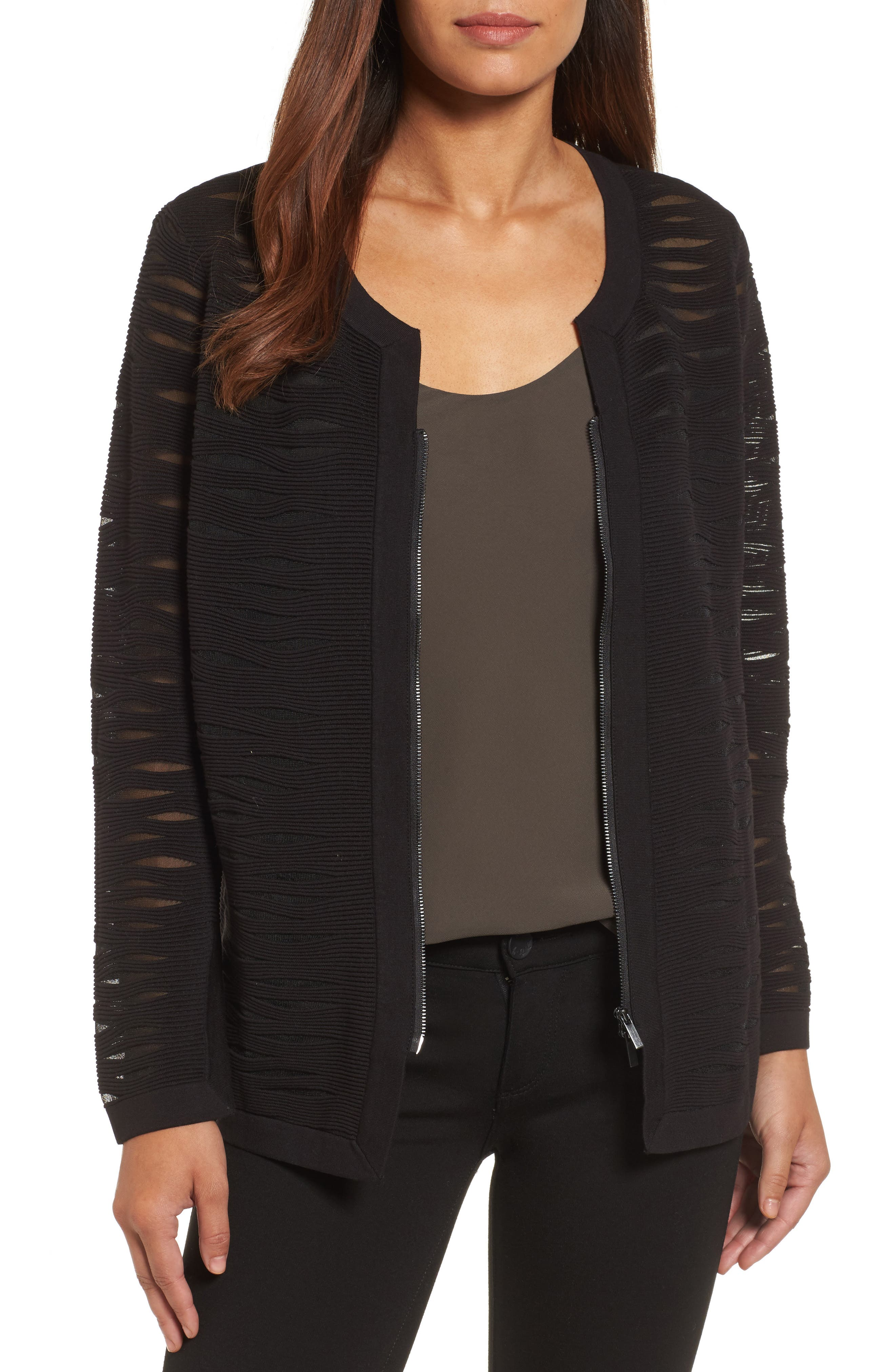 Aurora Jacket,                         Main,                         color, Black Onyx