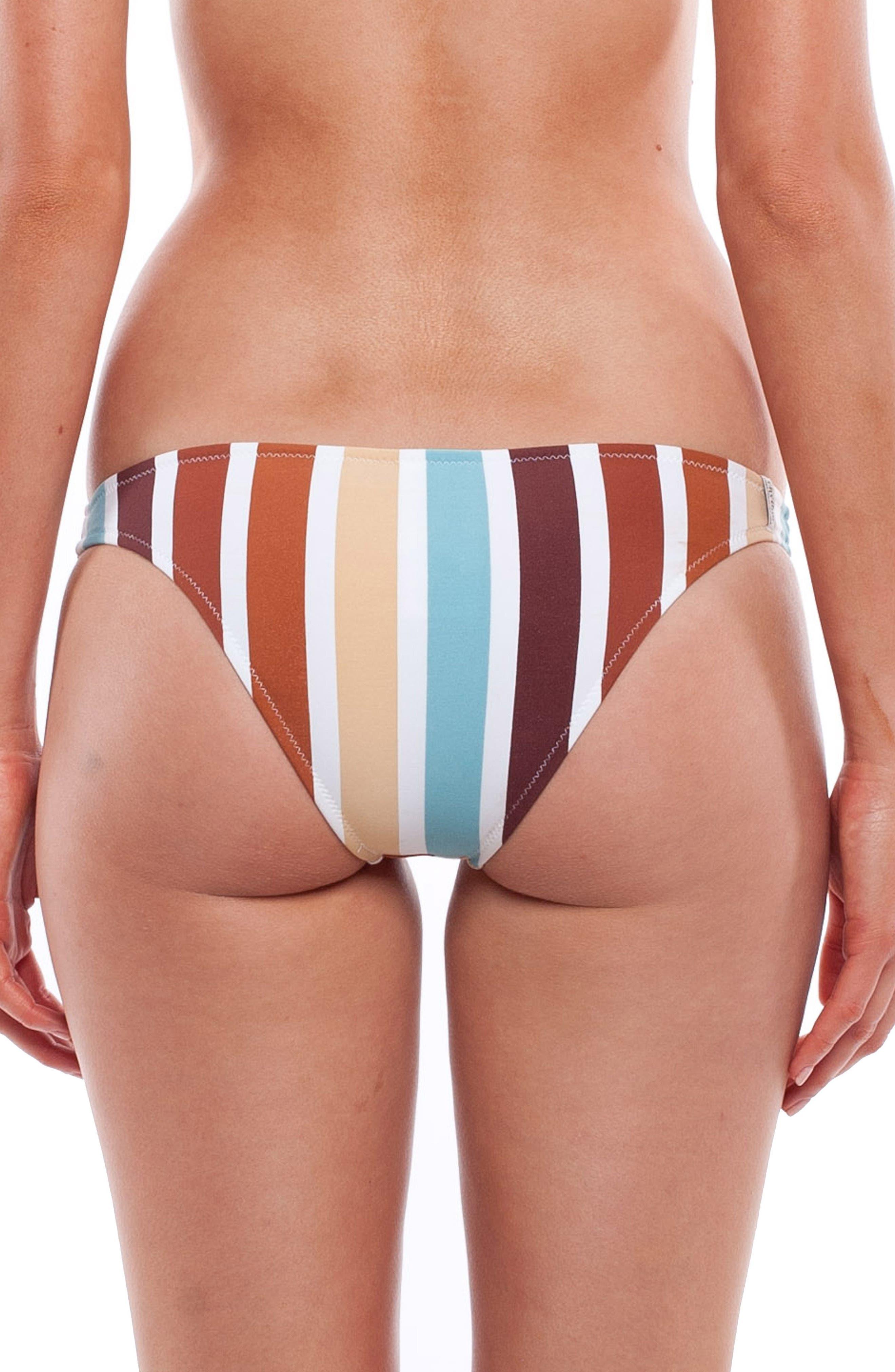 Zimbabwe Cheeky Bikini Bottoms,                             Main thumbnail 1, color,                             Blue Multi
