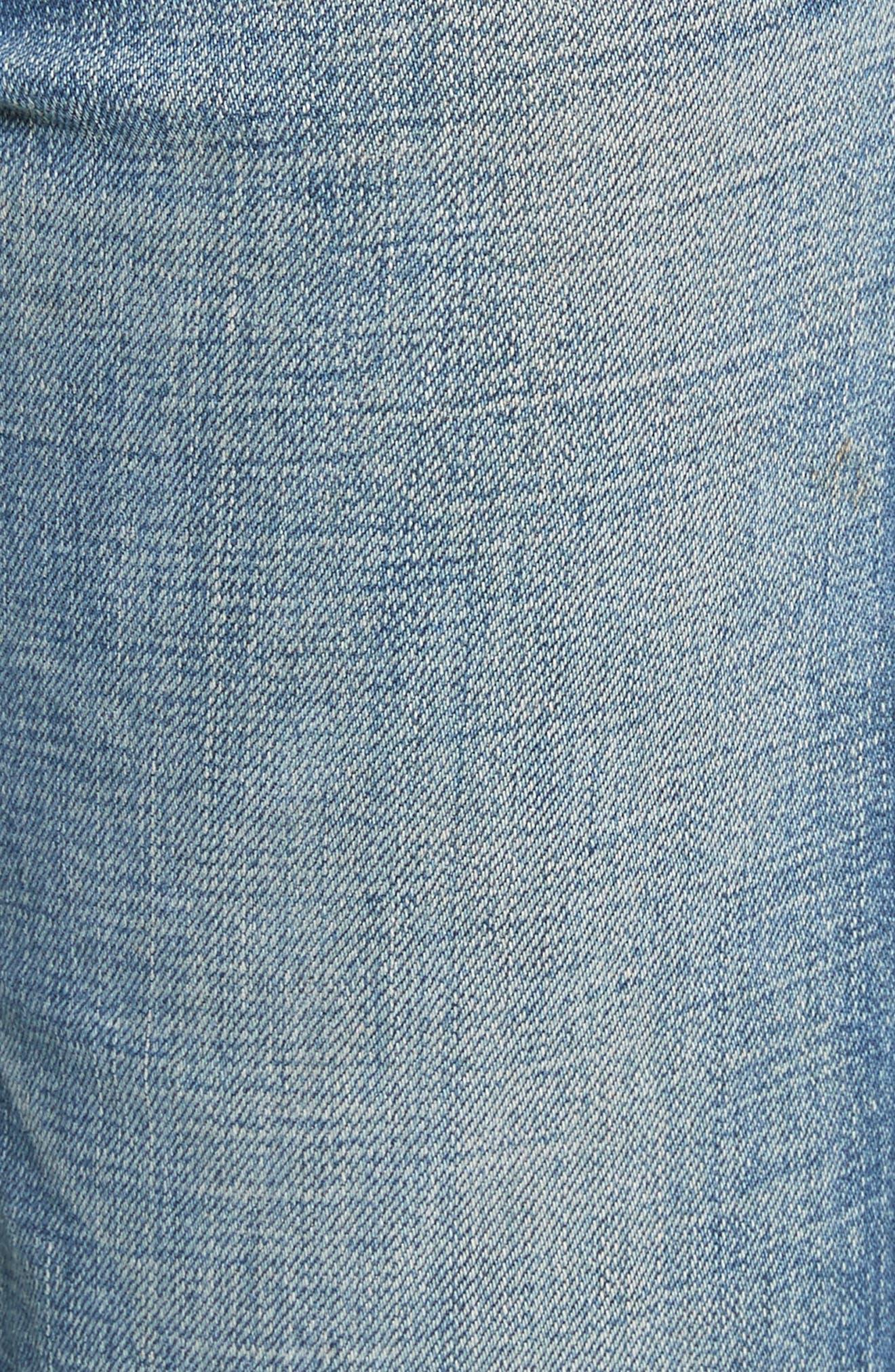 Gannett Denim Shorts,                             Alternate thumbnail 5, color,                             Light Indigo