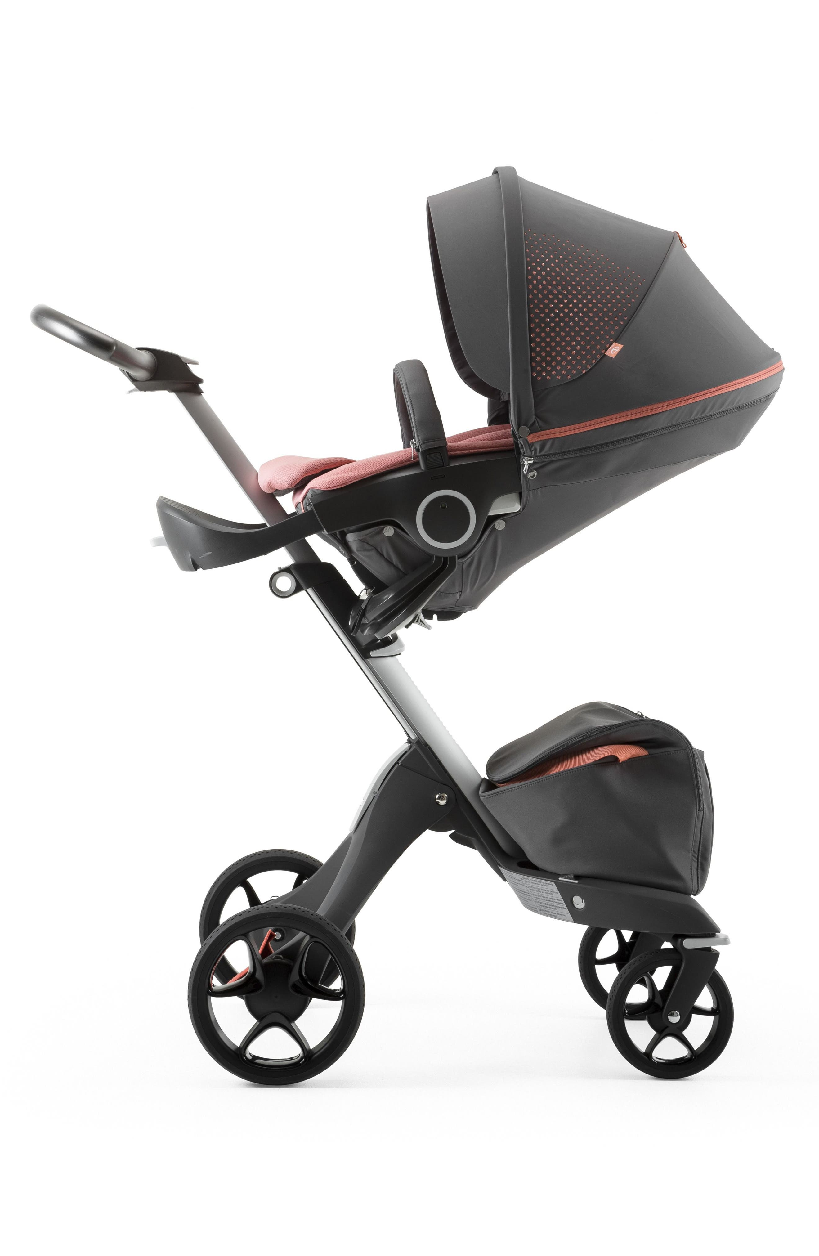 Xplory<sup>®</sup> V5 Coral Athleisure Stroller,                         Main,                         color, Coral