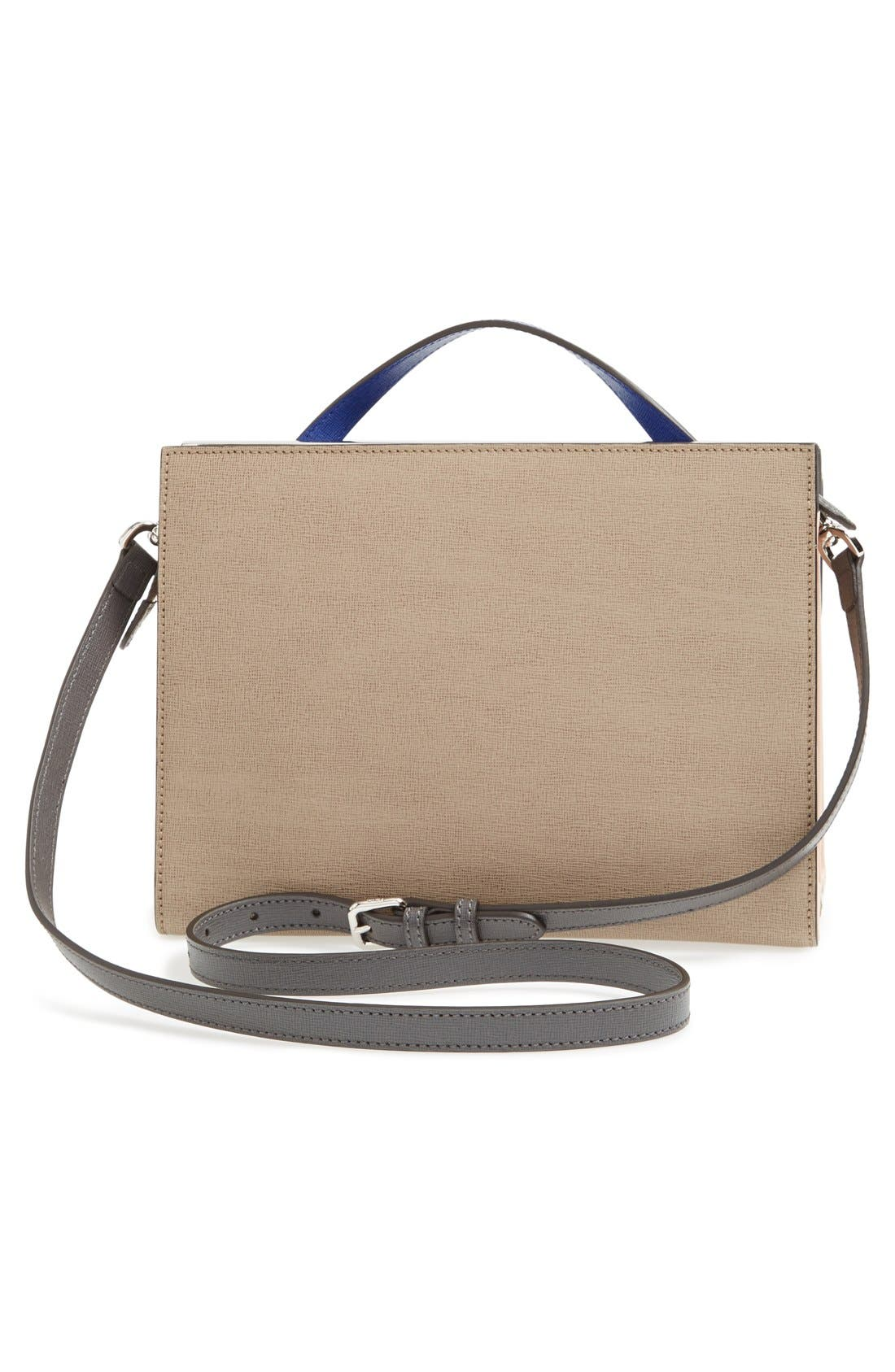 Alternate Image 4  - Fendi 'Demi Jour' Colorblock Leather Satchel
