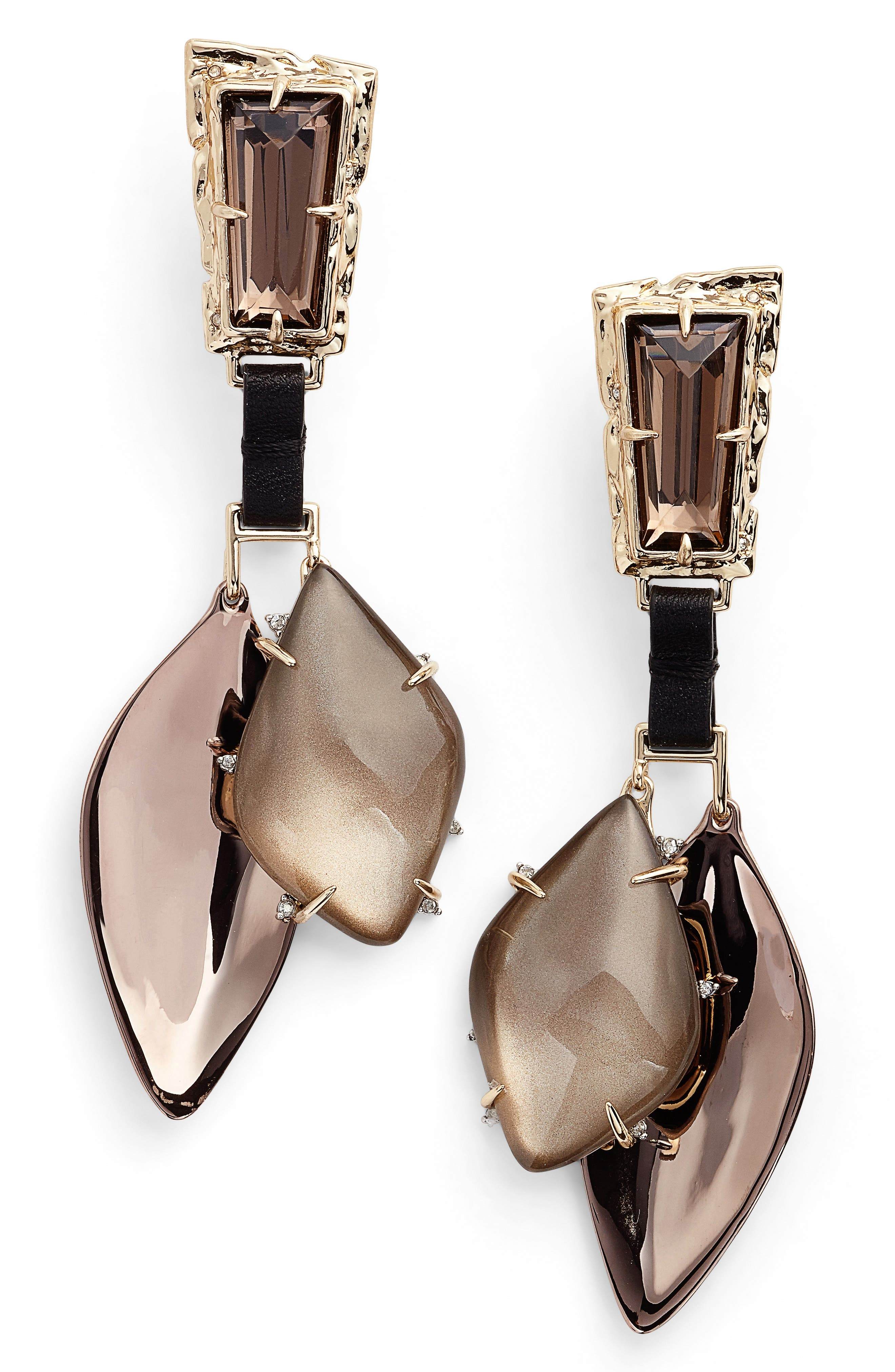 Alexis Bittar Lucite® Smoky Crystal Drops
