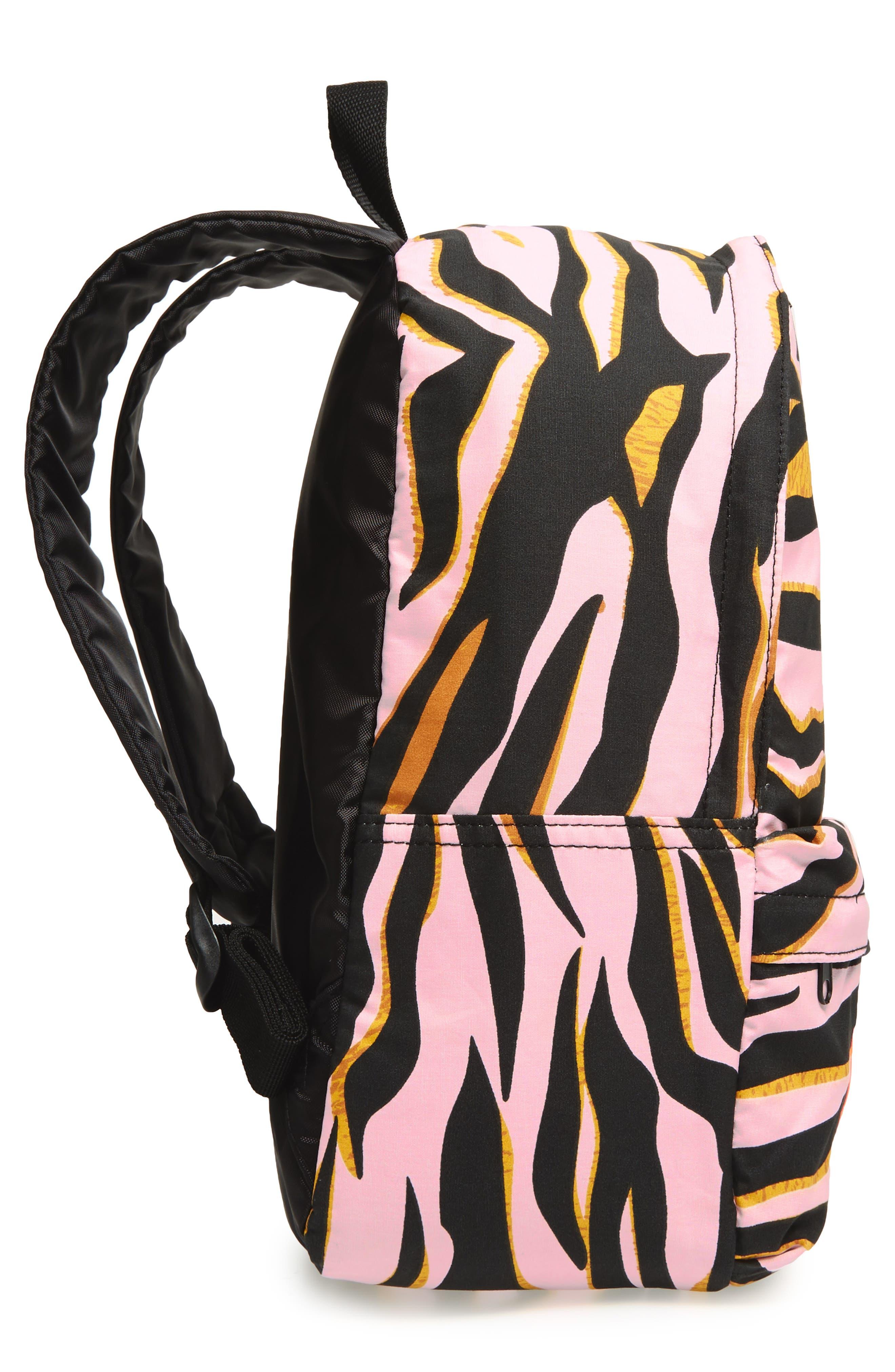 Logo Backpack,                             Alternate thumbnail 4, color,                             Old Pink