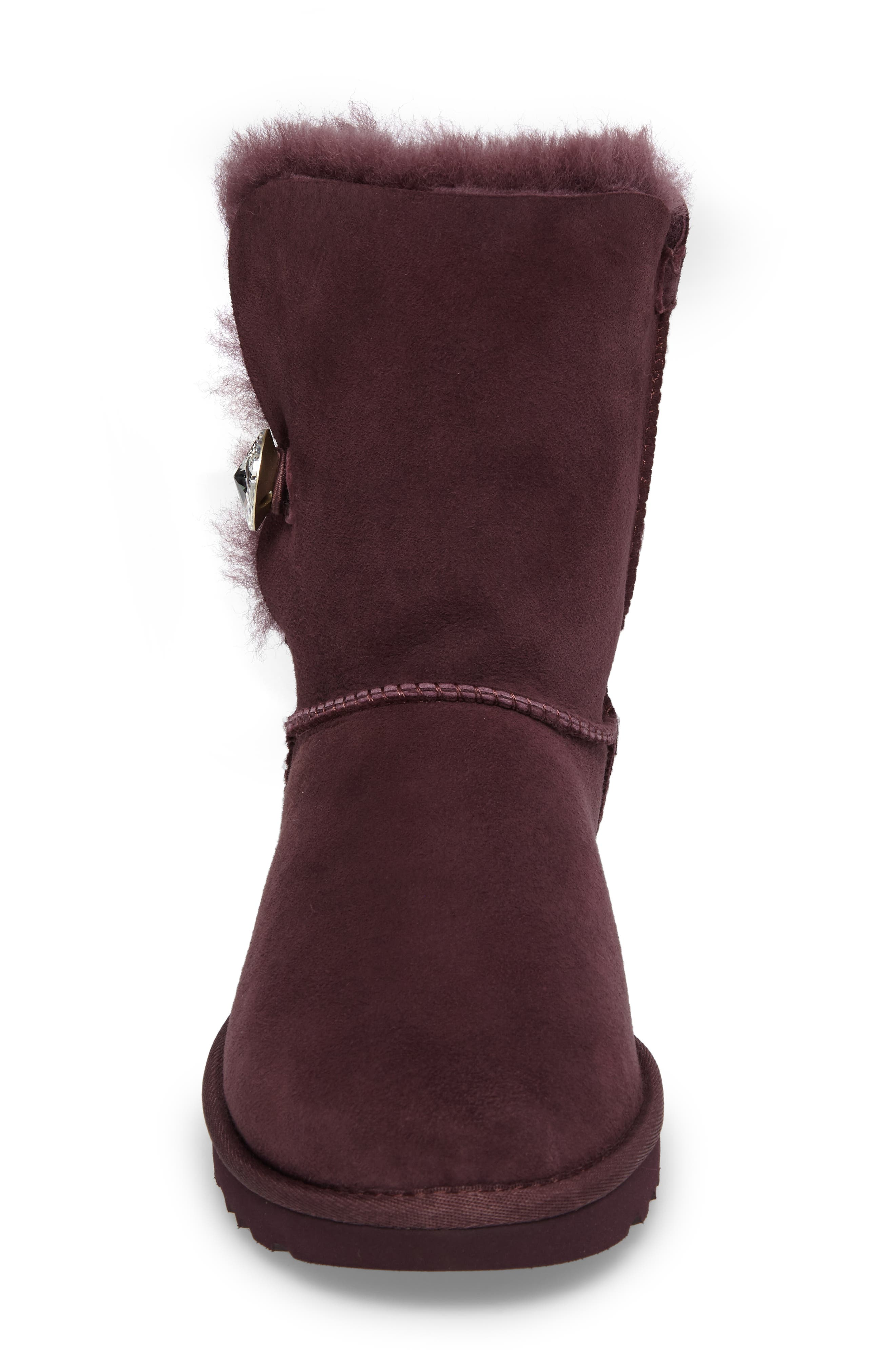 Alternate Image 4  - UGG® Bailey Button Bling Genuine Shearling Boot (Women)