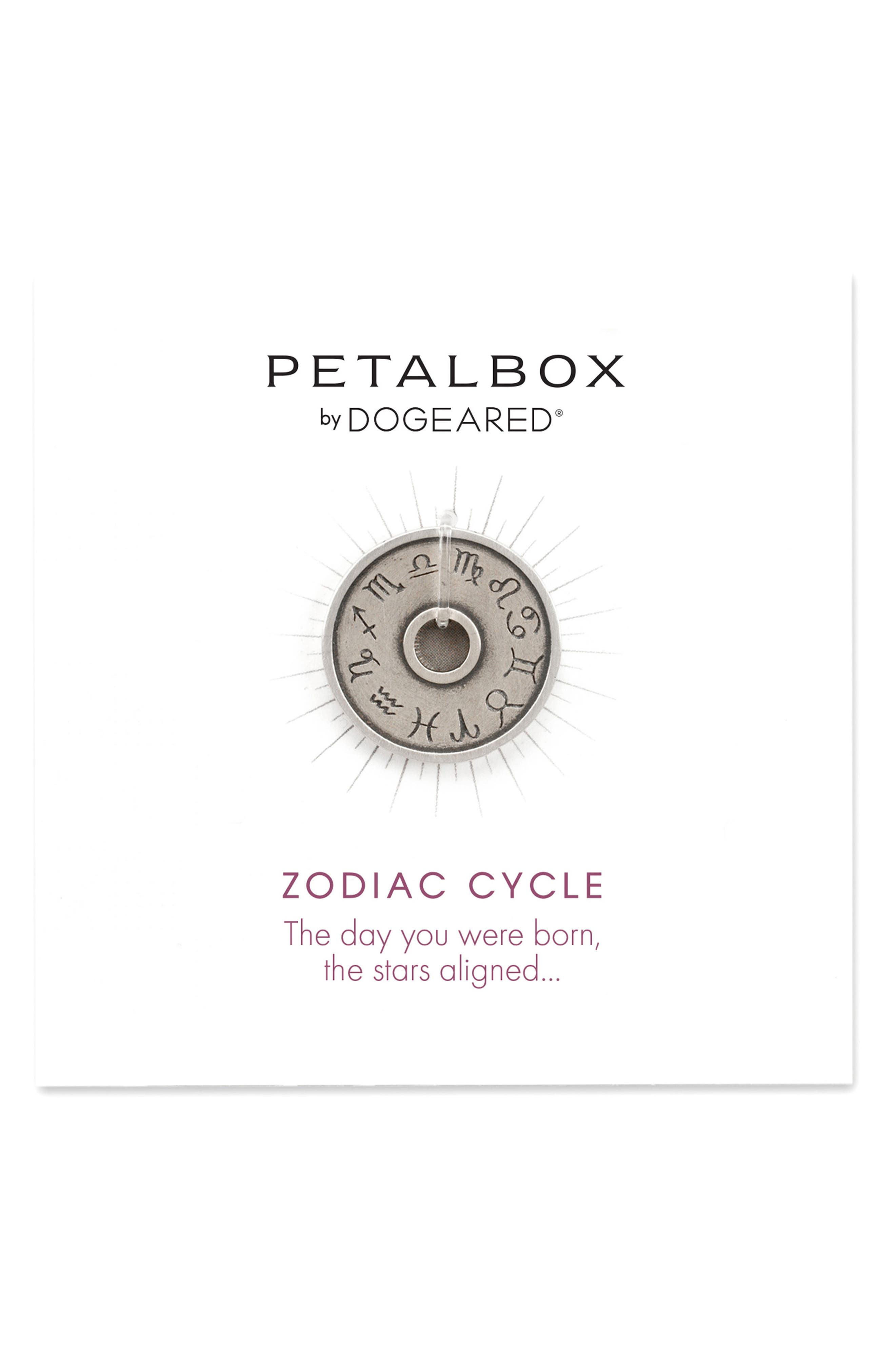 Main Image - Dogeared Petalbox Zodiac Enhancer (Nordstrom Exclusive)