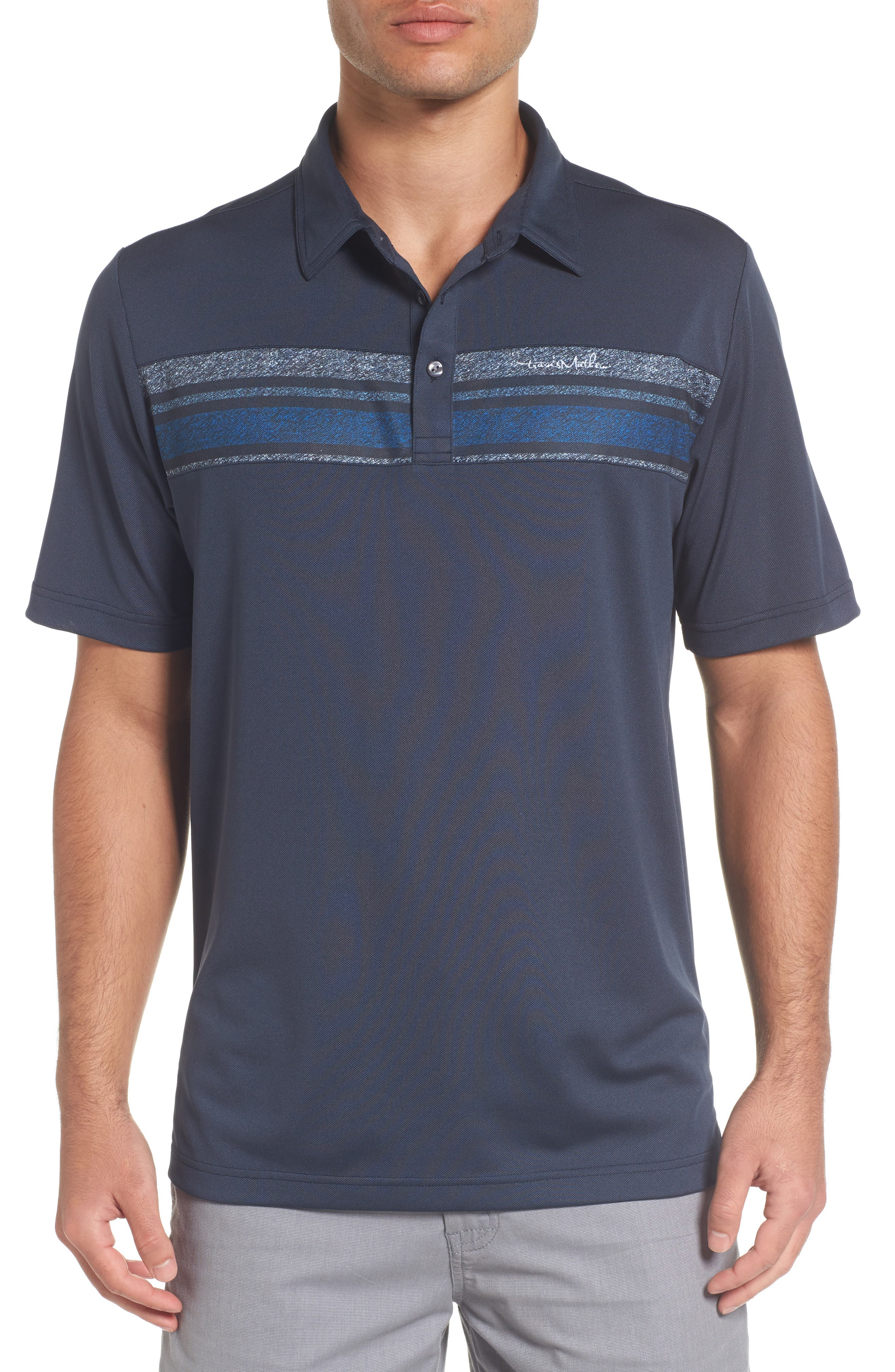 TRAVIS MATHEW The Brock Birds Eye Polo